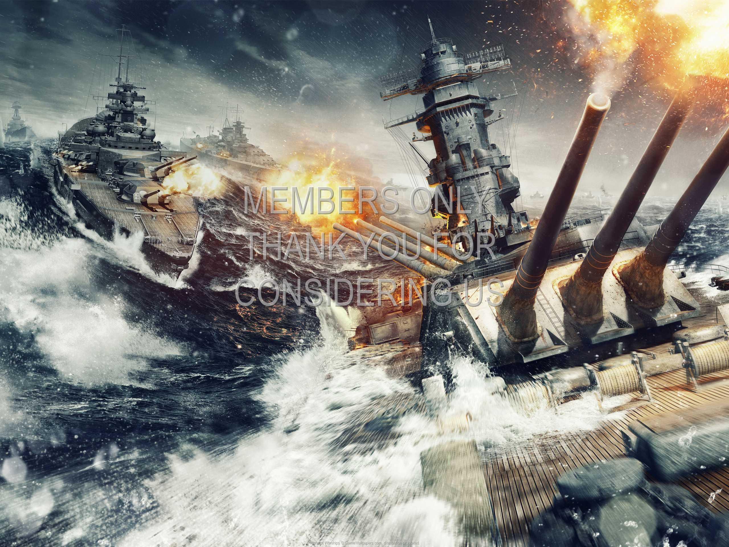 World of Warships 1080p Horizontal Mobile fond d'écran 02