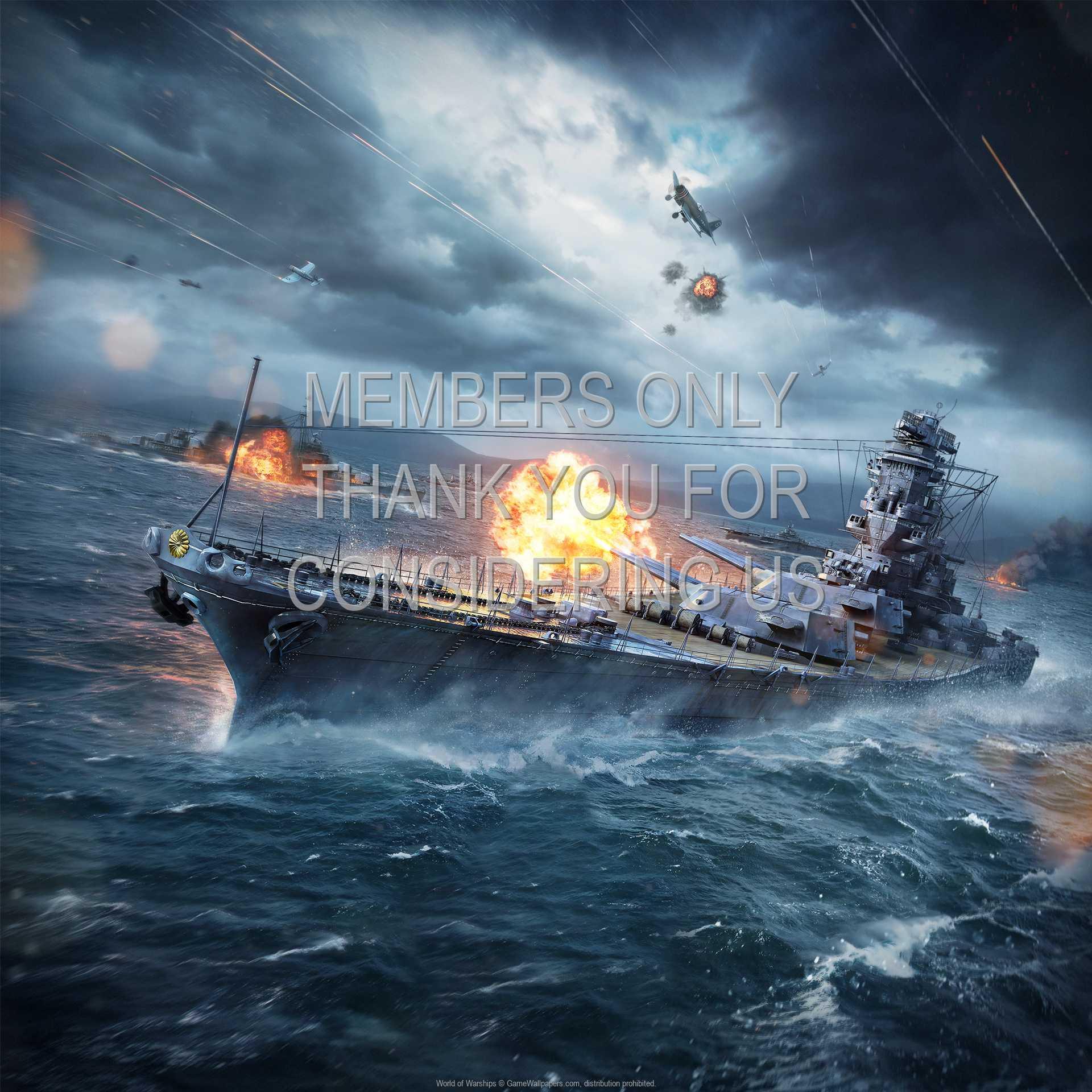 World of Warships 1080p Horizontal Handy Hintergrundbild 04