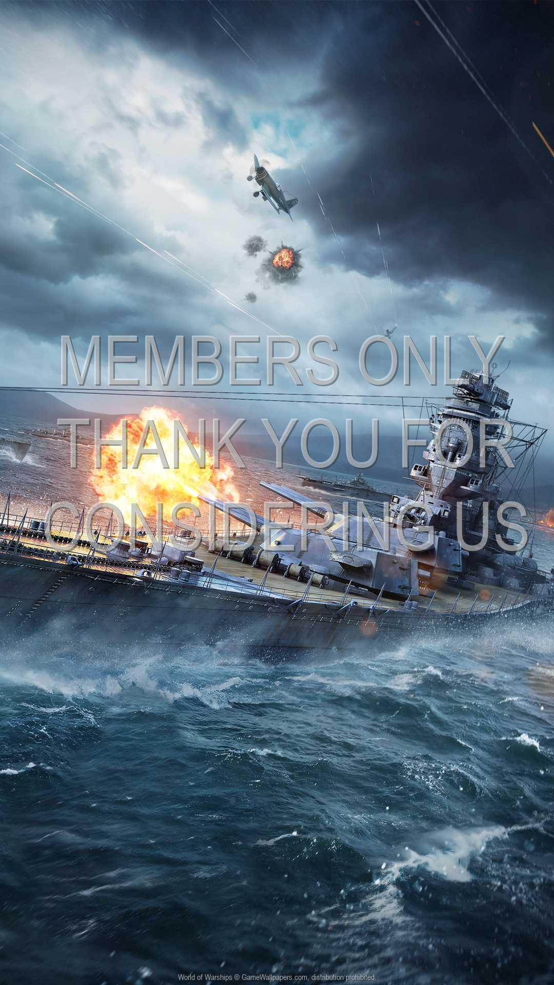 World of Warships 1080p Vertical Mobile fond d'écran 04