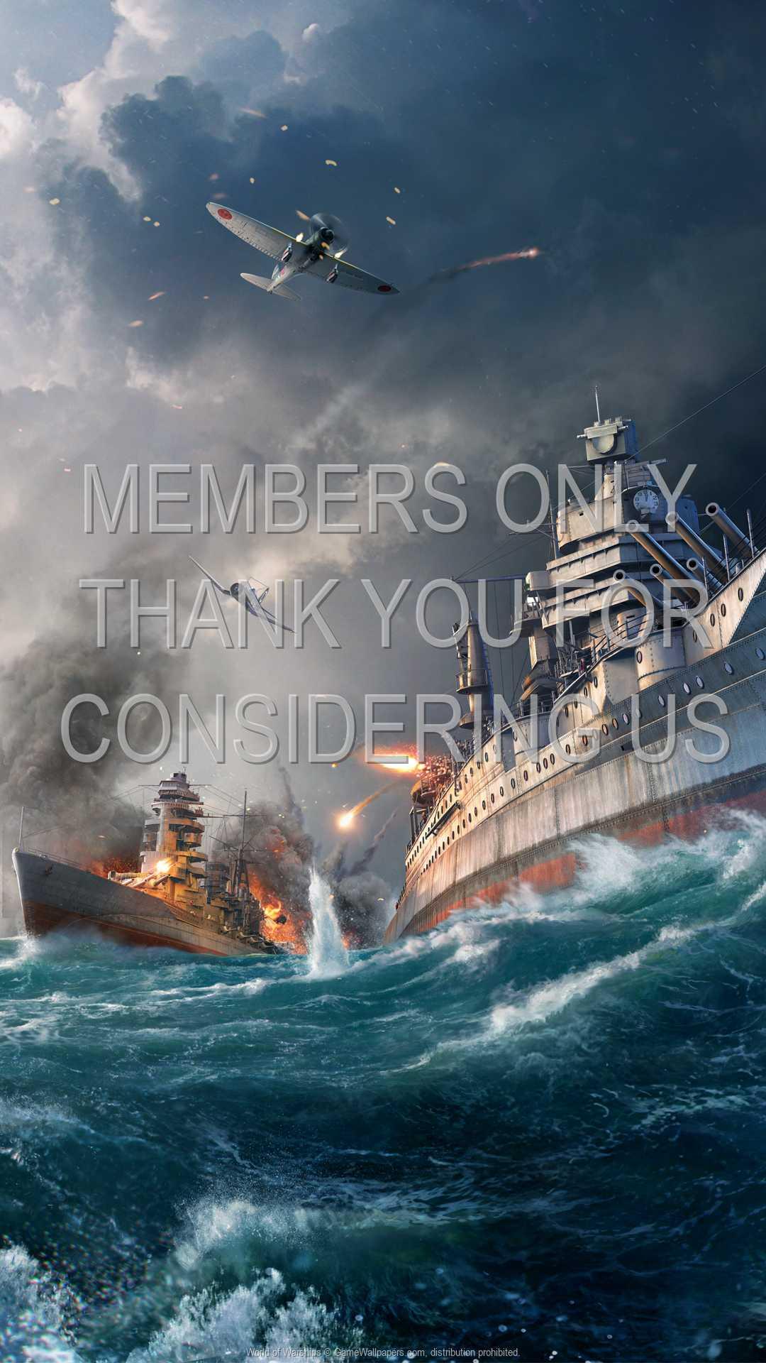 World of Warships 1080p Vertical Handy Hintergrundbild 05