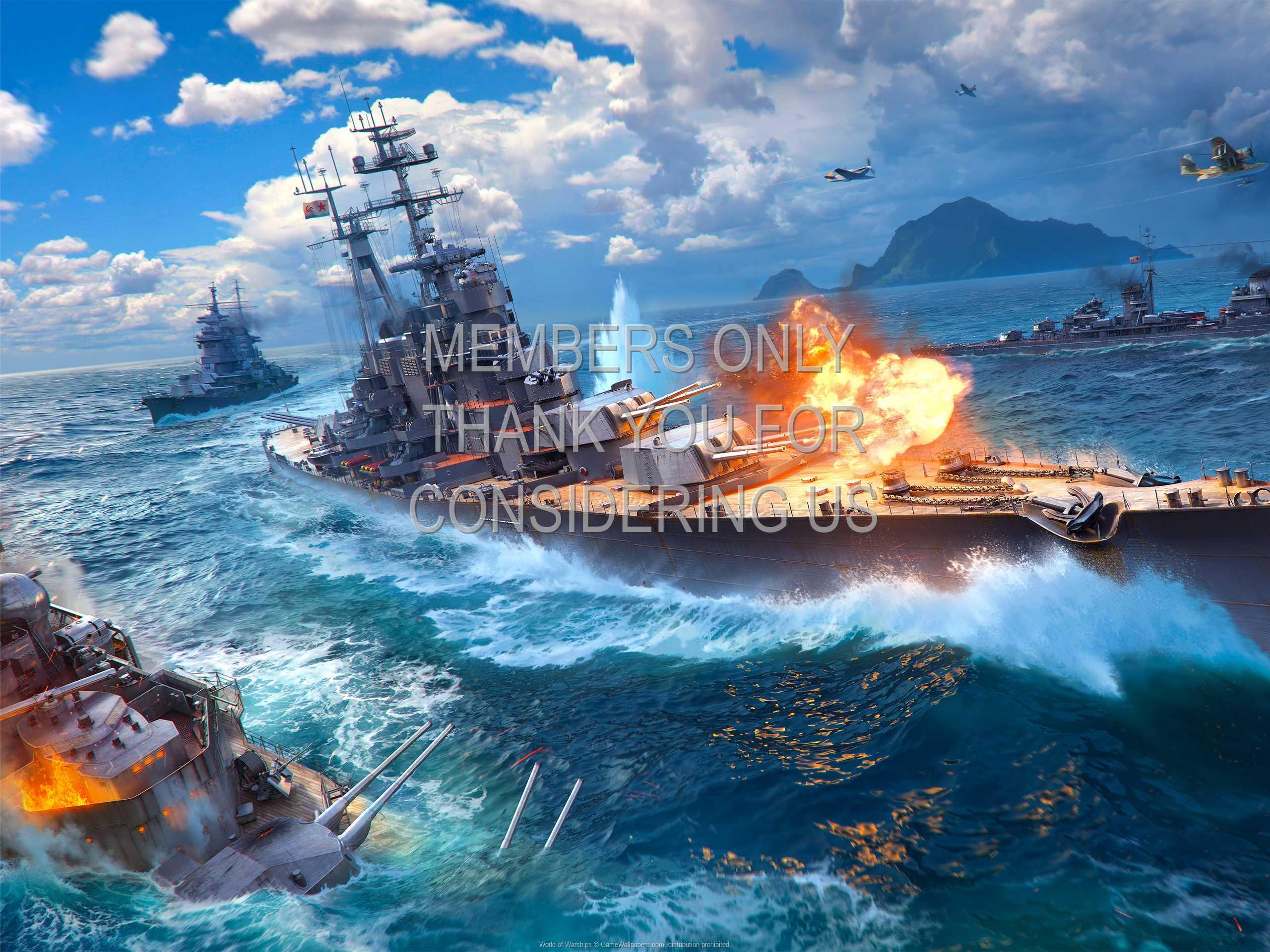 World of Warships 1080p Horizontal Mobile fond d'écran 10