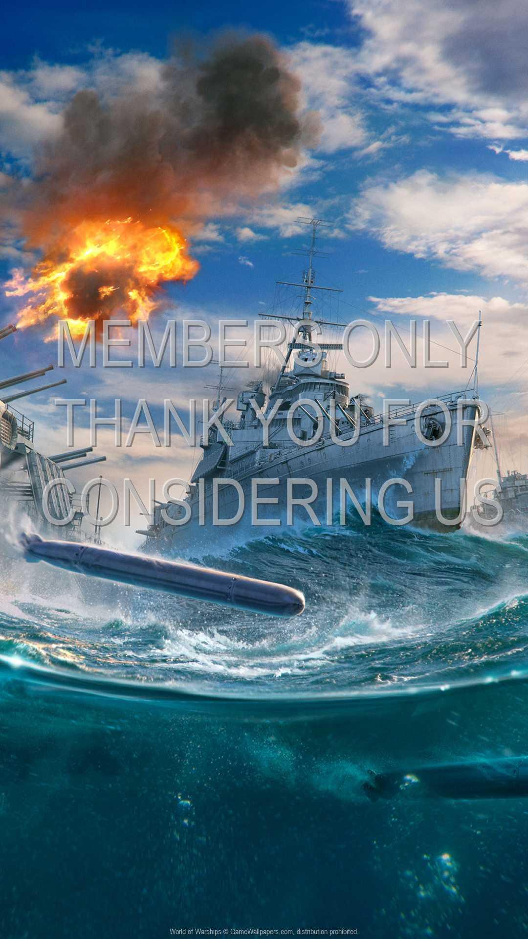World of Warships 1080p Vertical Handy Hintergrundbild 15