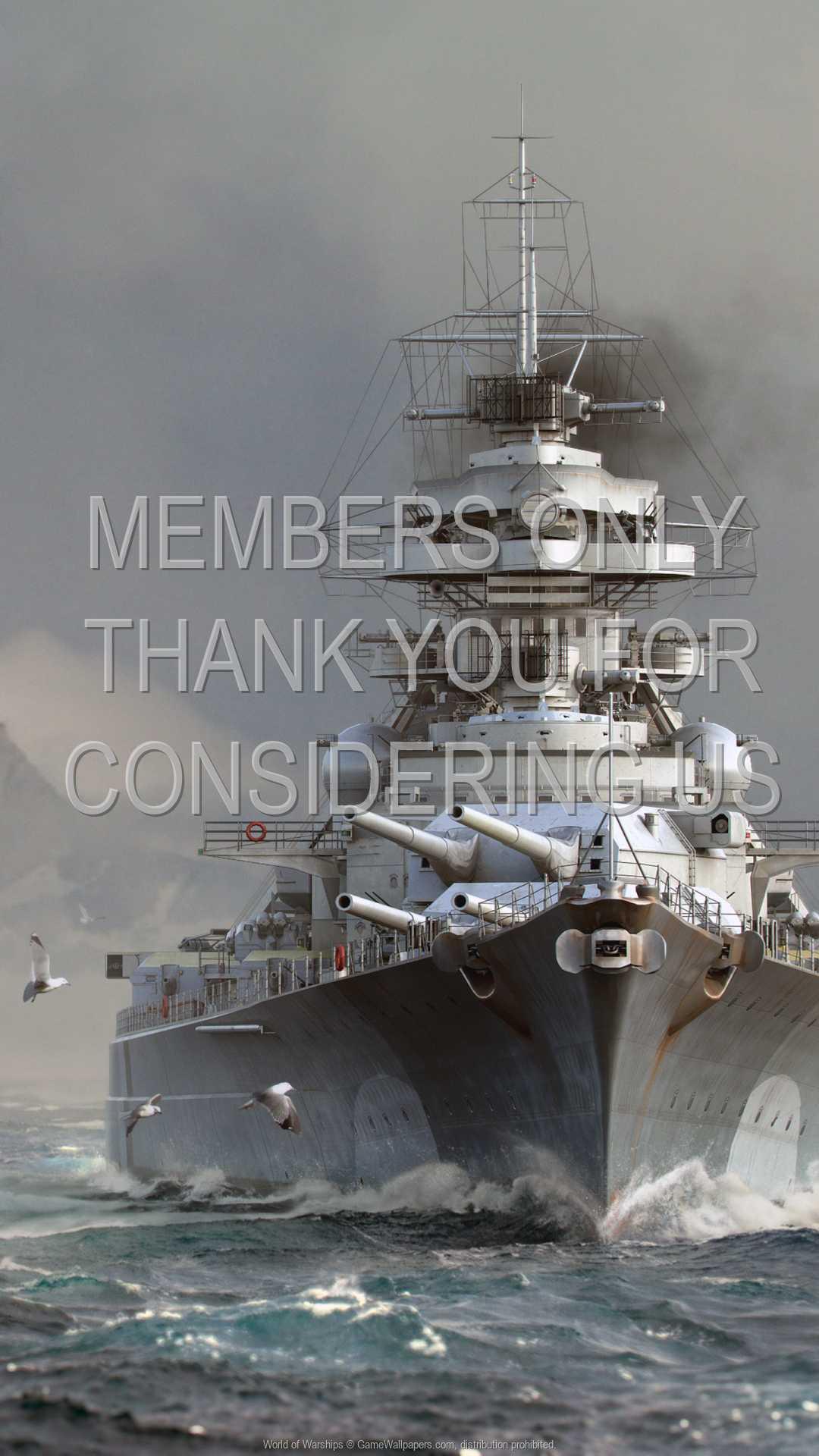 World of Warships 1080p Vertical Handy Hintergrundbild 16