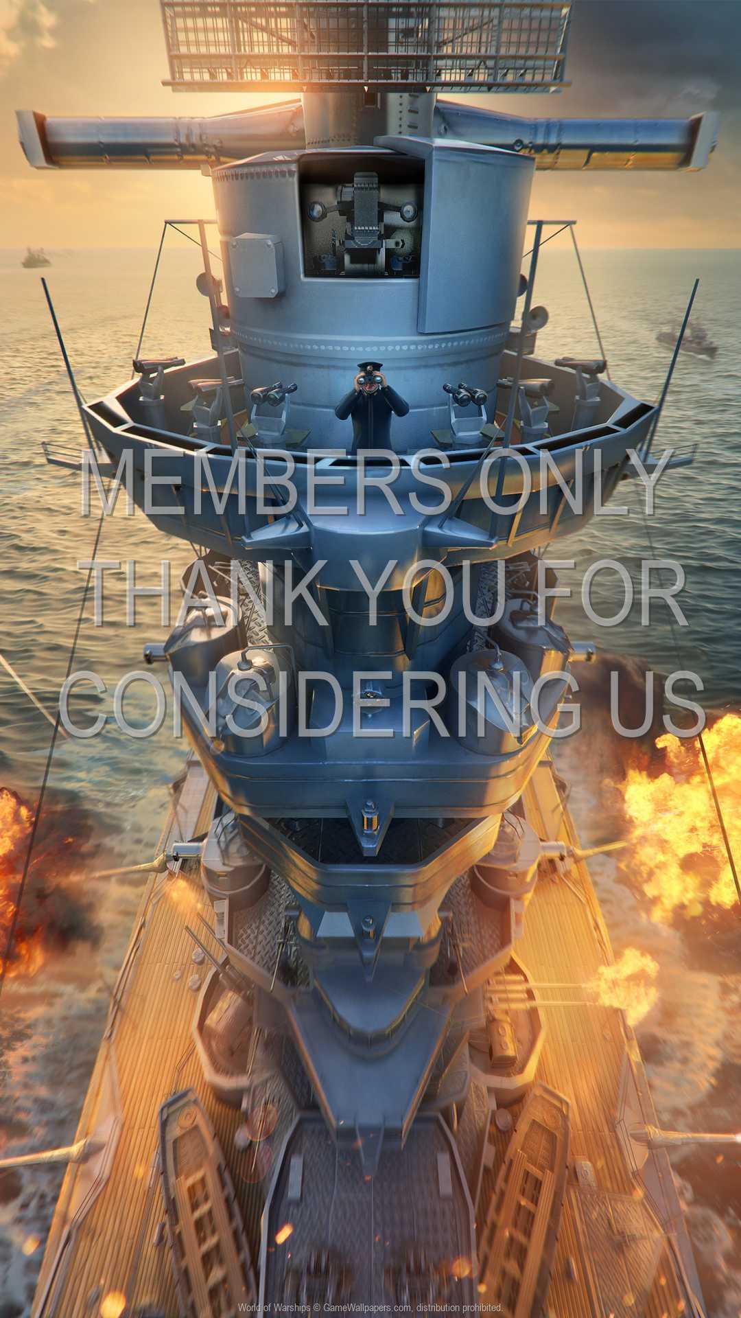 World of Warships 1080p Vertical Handy Hintergrundbild 23