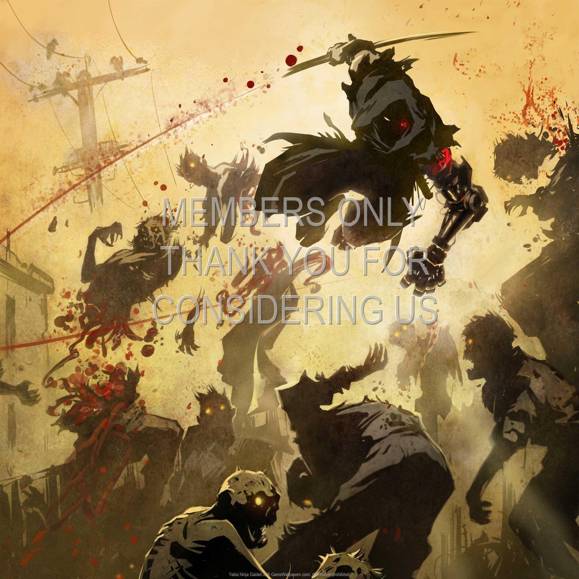 Yaiba: Ninja Gaiden Z 1080p Horizontal Handy Hintergrundbild 01