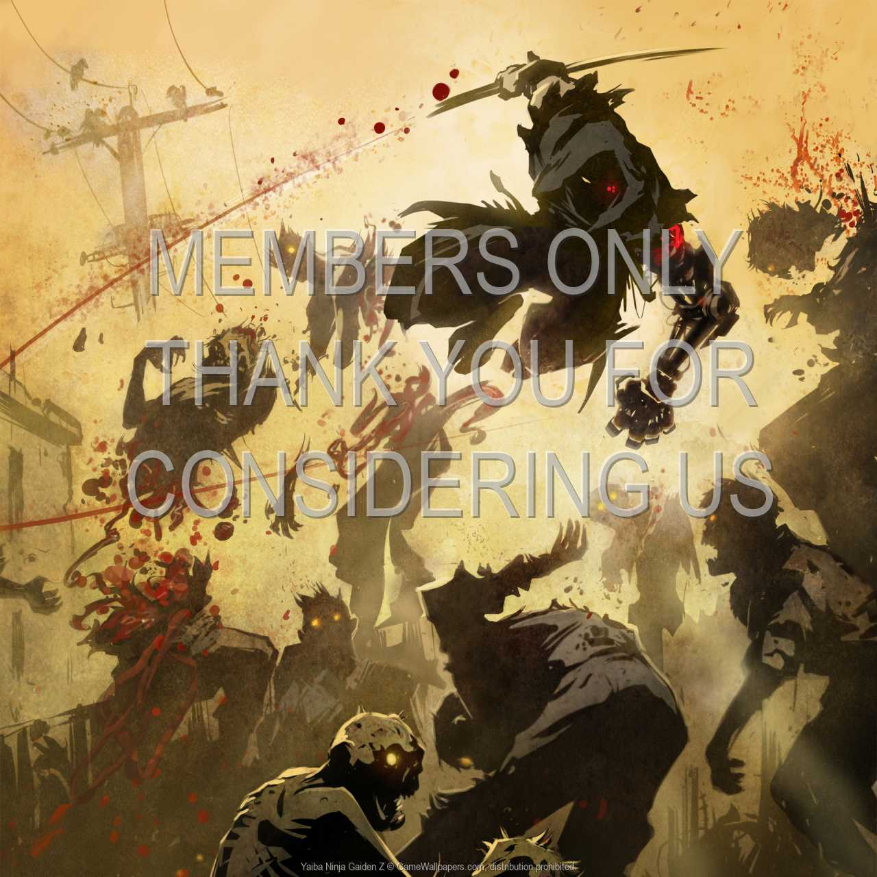 Yaiba: Ninja Gaiden Z 720p Horizontal Handy Hintergrundbild 01