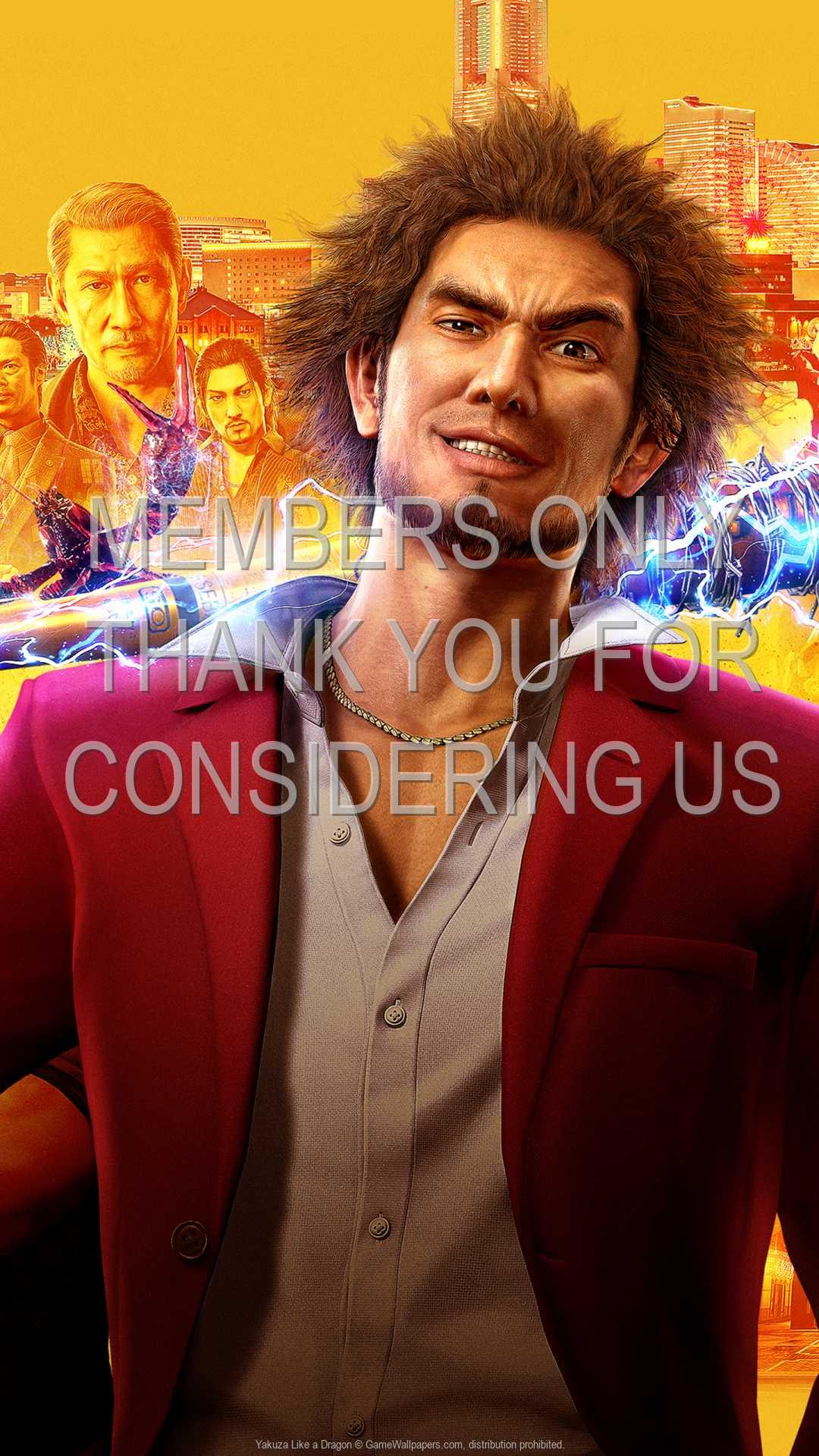 Yakuza: Like a Dragon 1080p Vertical Mobile wallpaper or background 01
