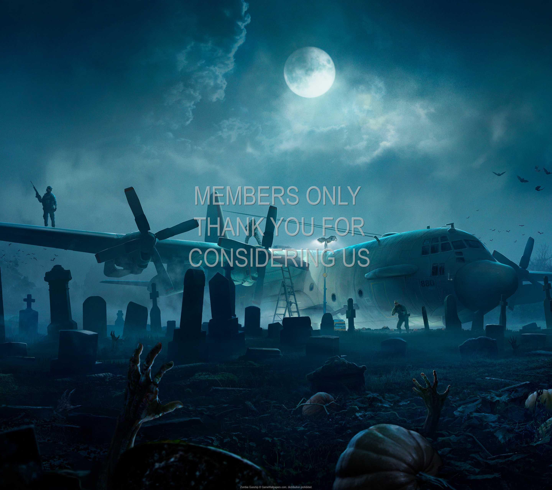 Zombie Gunship 1440p Horizontal Mobiele achtergrond 01