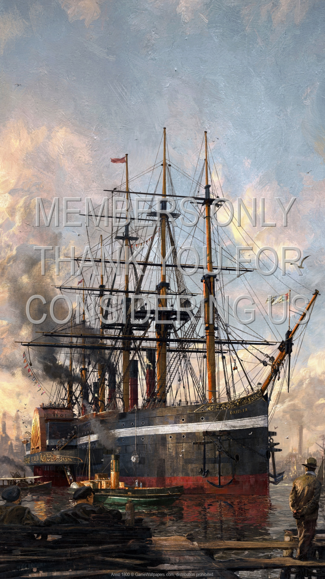 Anno 1800 1920x1080 Mobile wallpaper or background 01