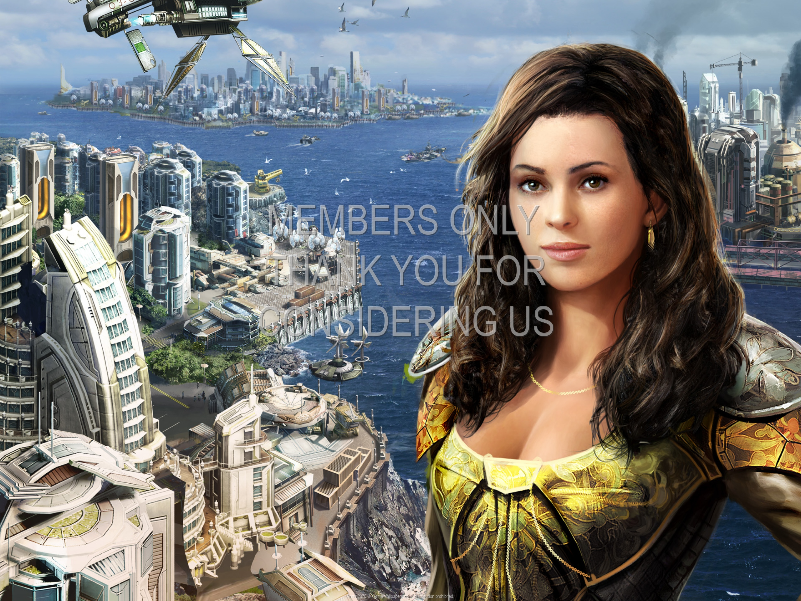 Anno 2070 1920x1080 Mobile wallpaper or background 01