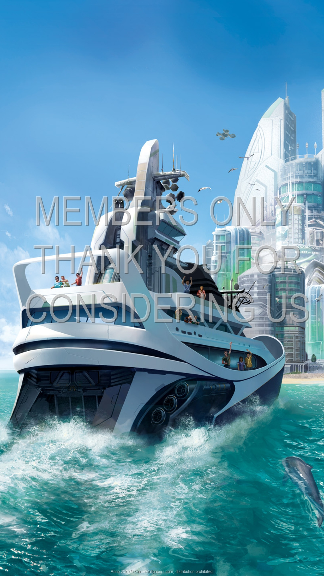 Anno 2070 1920x1080 Mobile wallpaper or background 02