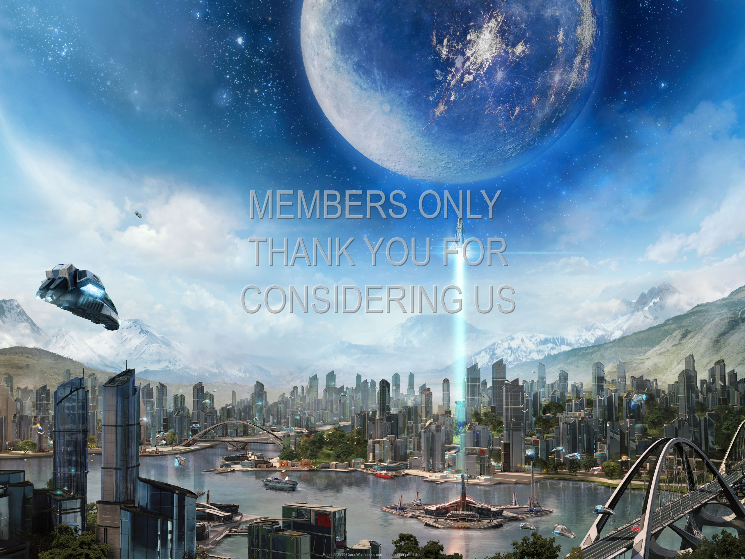 Anno 2205 1920x1080 Mobile wallpaper or background 01