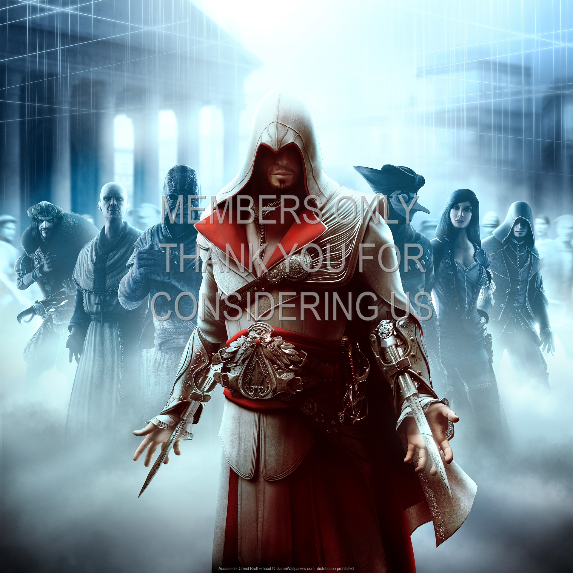 Assassin's Creed: Brotherhood 1920x1080 Mobiele achtergrond 01