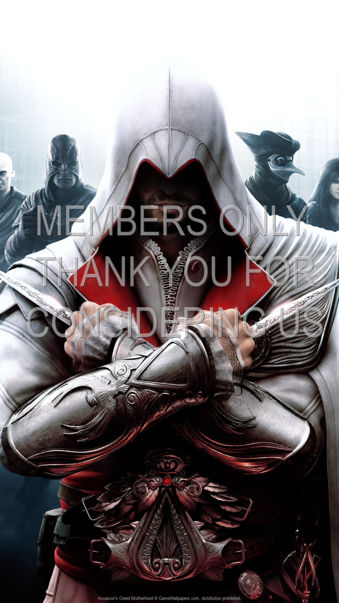 Assassin's Creed: Brotherhood 1920x1080 Mobiele achtergrond 04