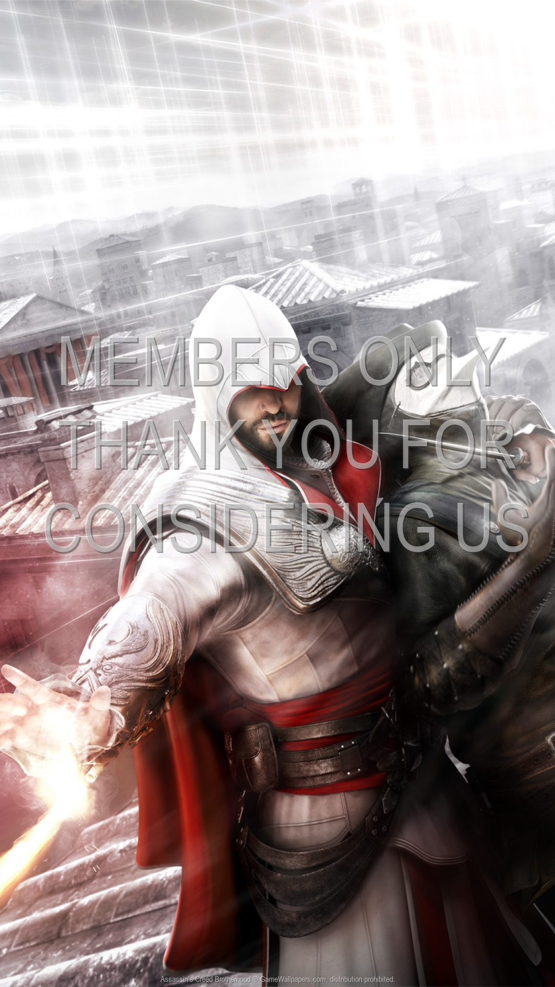 Assassin's Creed: Brotherhood 1920x1080 Mobiele achtergrond 06