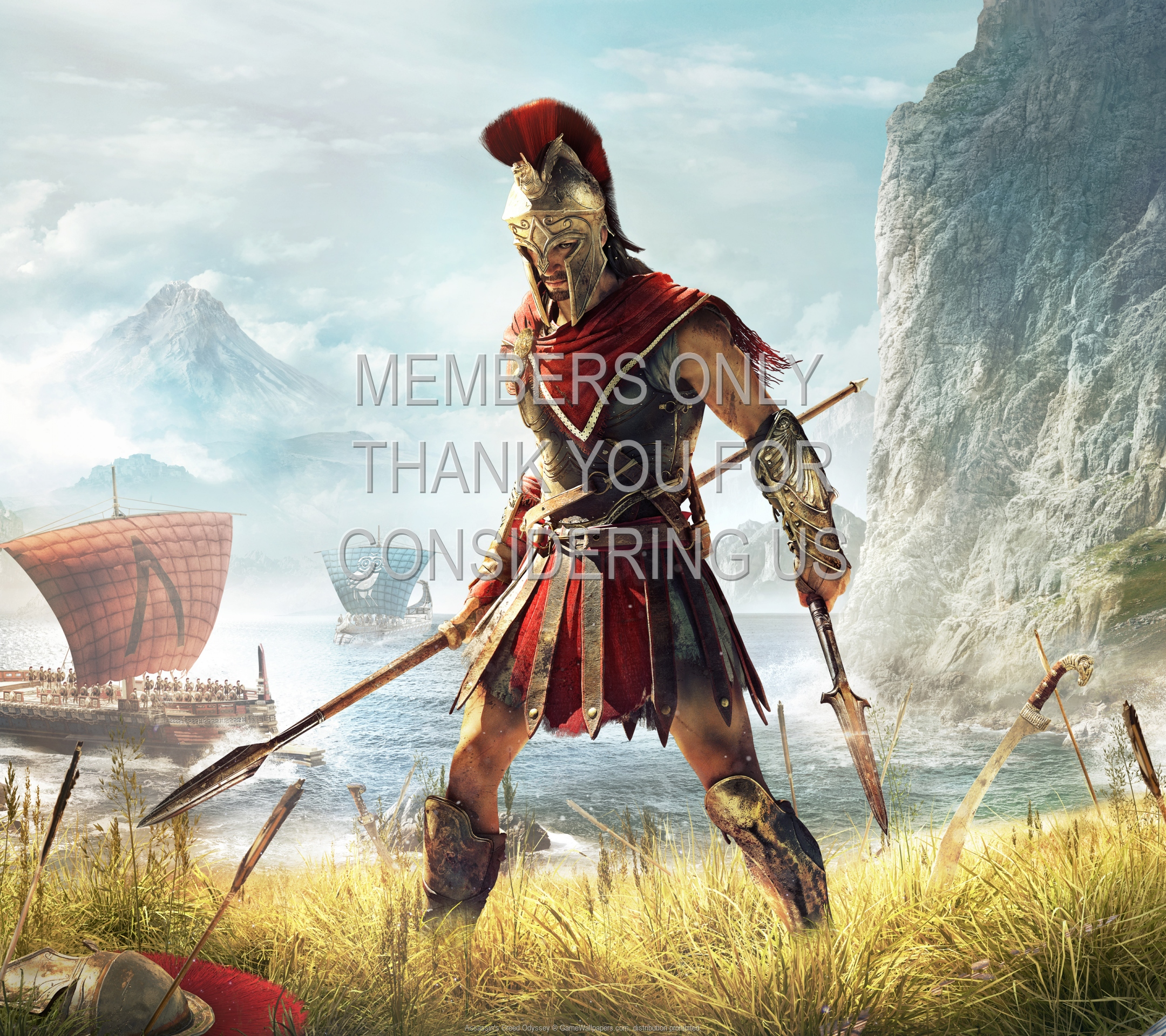 Assassin's Creed: Odyssey 1920x1080 Mobile wallpaper or background 01