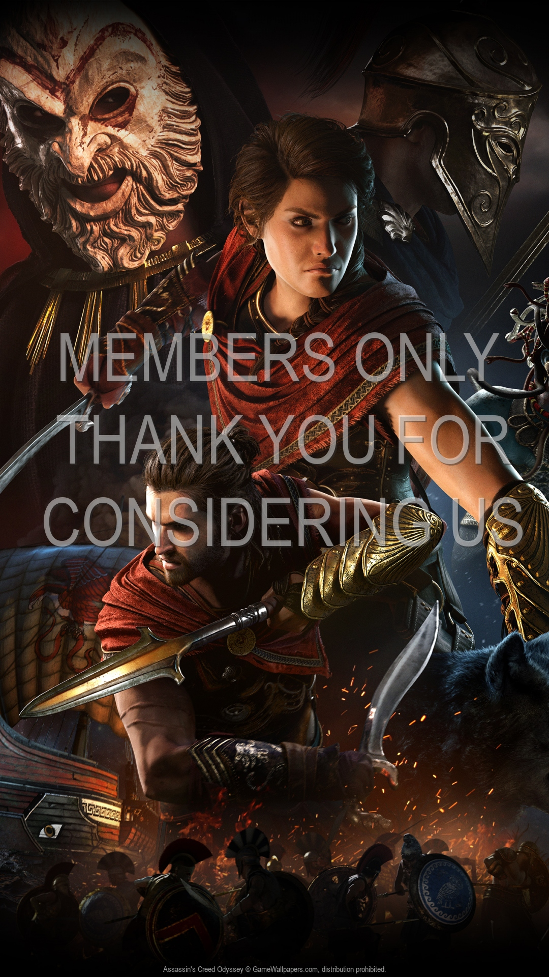 Assassin's Creed: Odyssey 1920x1080 Mobile wallpaper or background 05