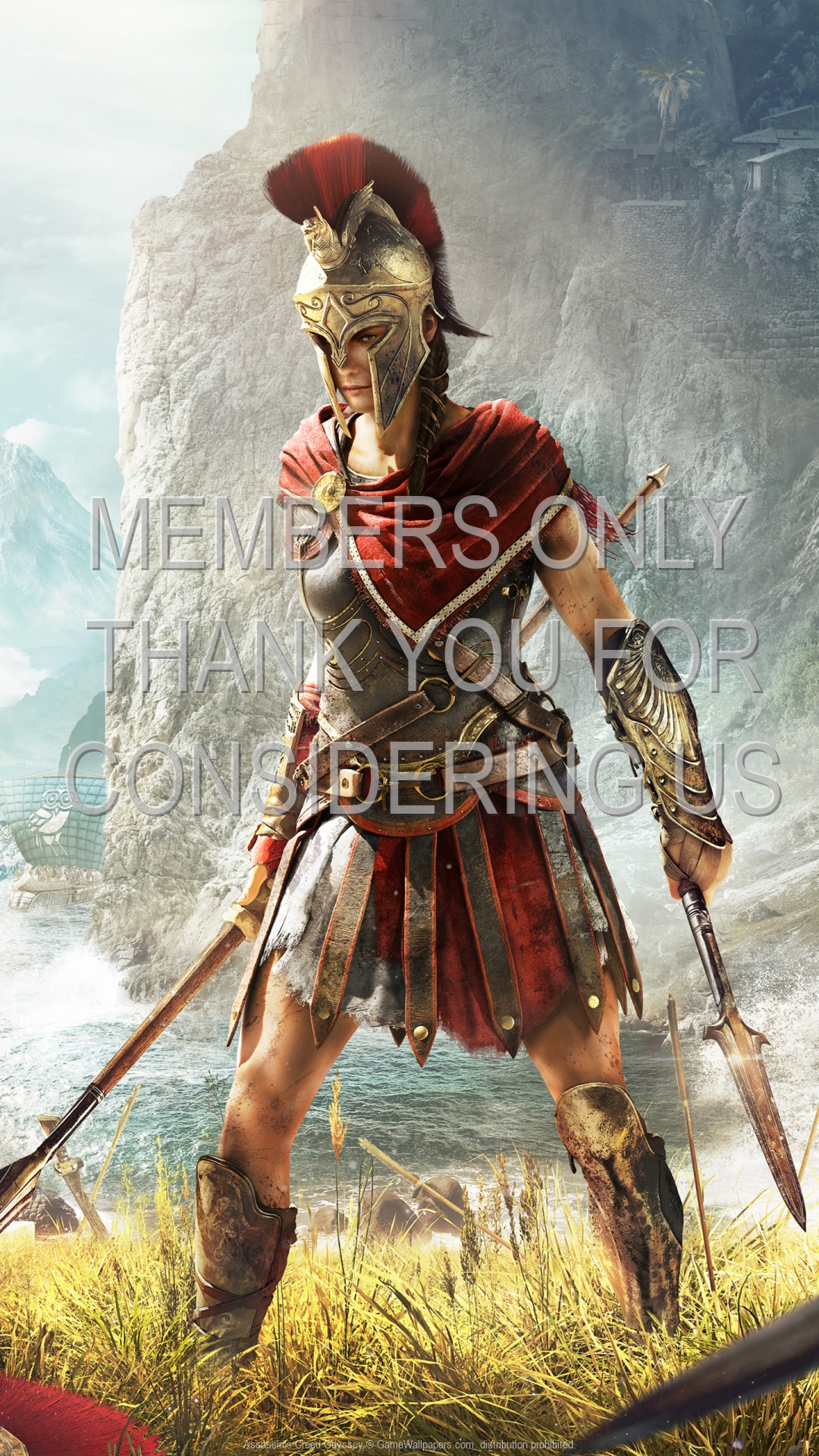 Assassin's Creed: Odyssey 1920x1080 Mobile wallpaper or background 08