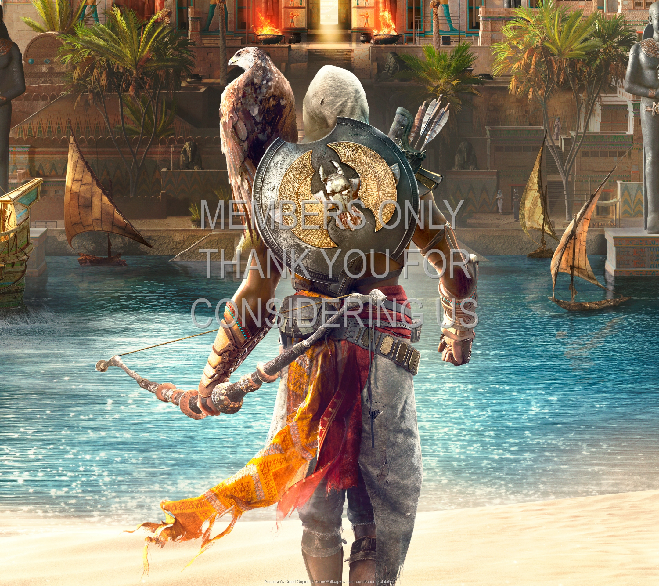Assassin's Creed: Origins 1920x1080 Mobile wallpaper or background 01