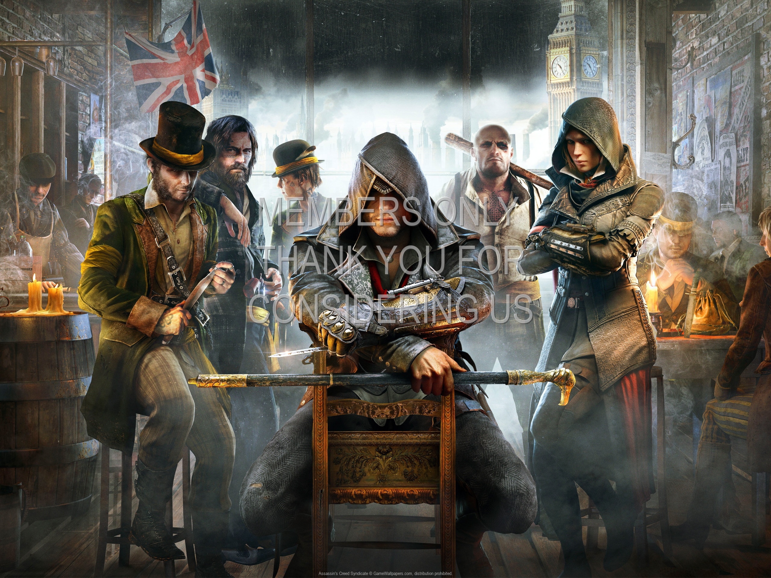 Assassin's Creed: Syndicate 1920x1080 Mobile wallpaper or background 02