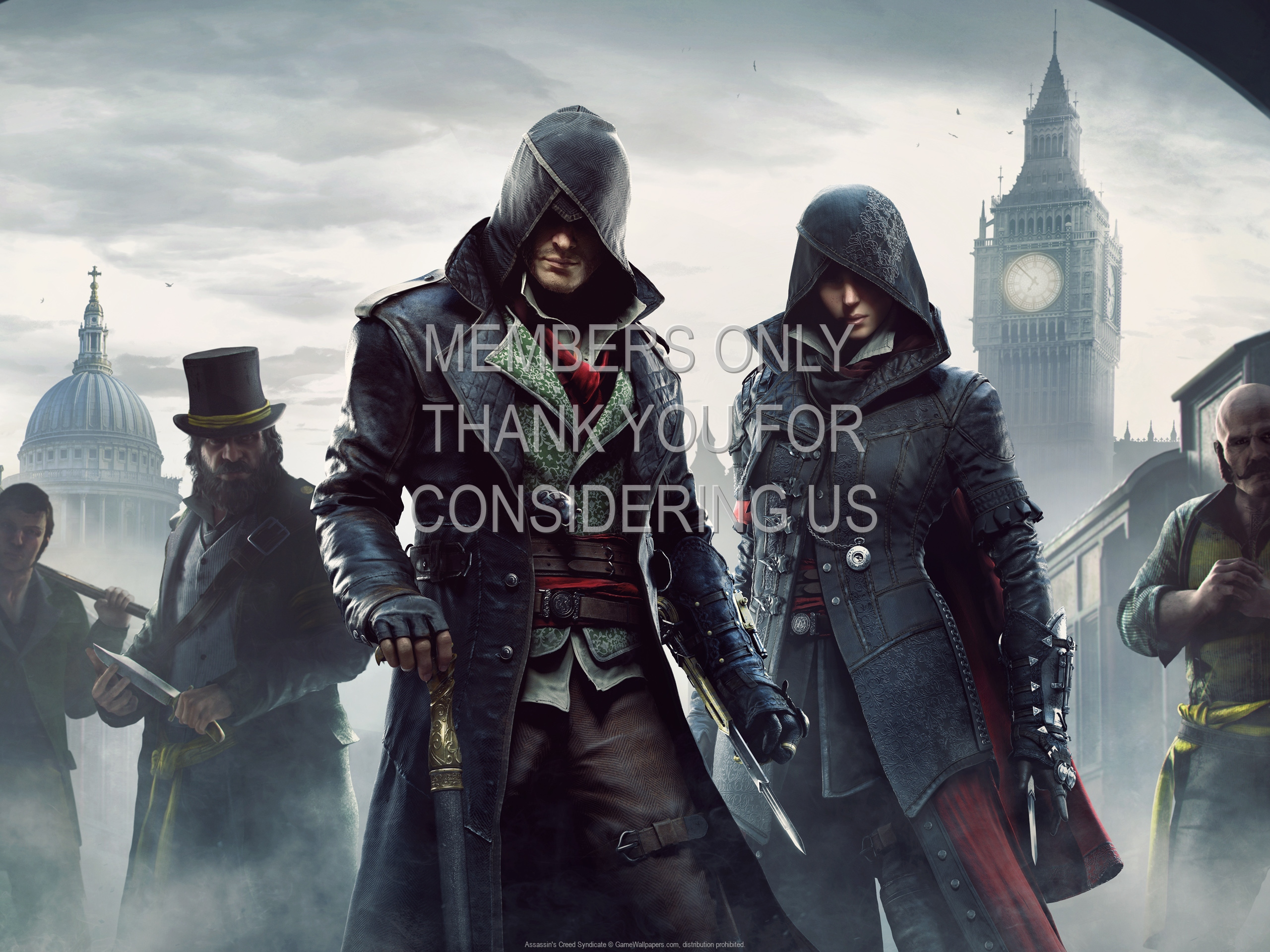 Assassin's Creed: Syndicate 1920x1080 Mobile wallpaper or background 05