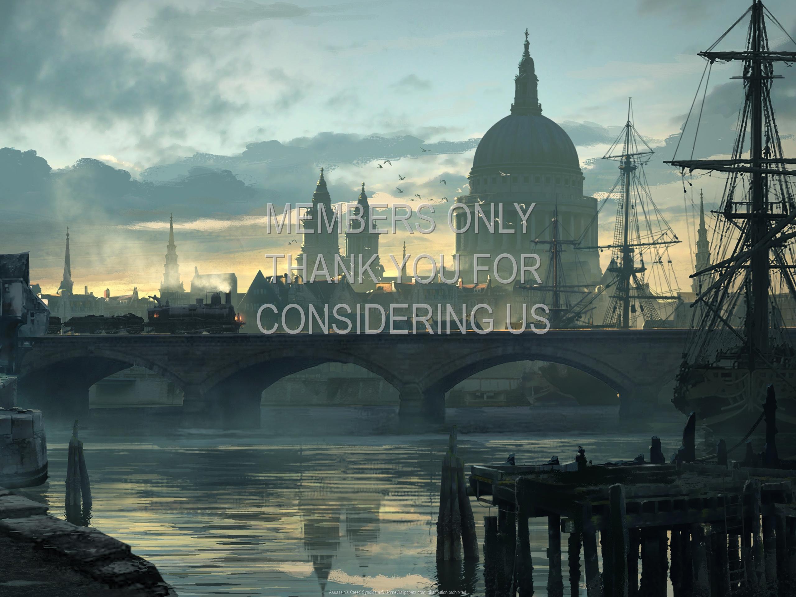 Assassin's Creed: Syndicate 1920x1080 Handy Hintergrundbild 08
