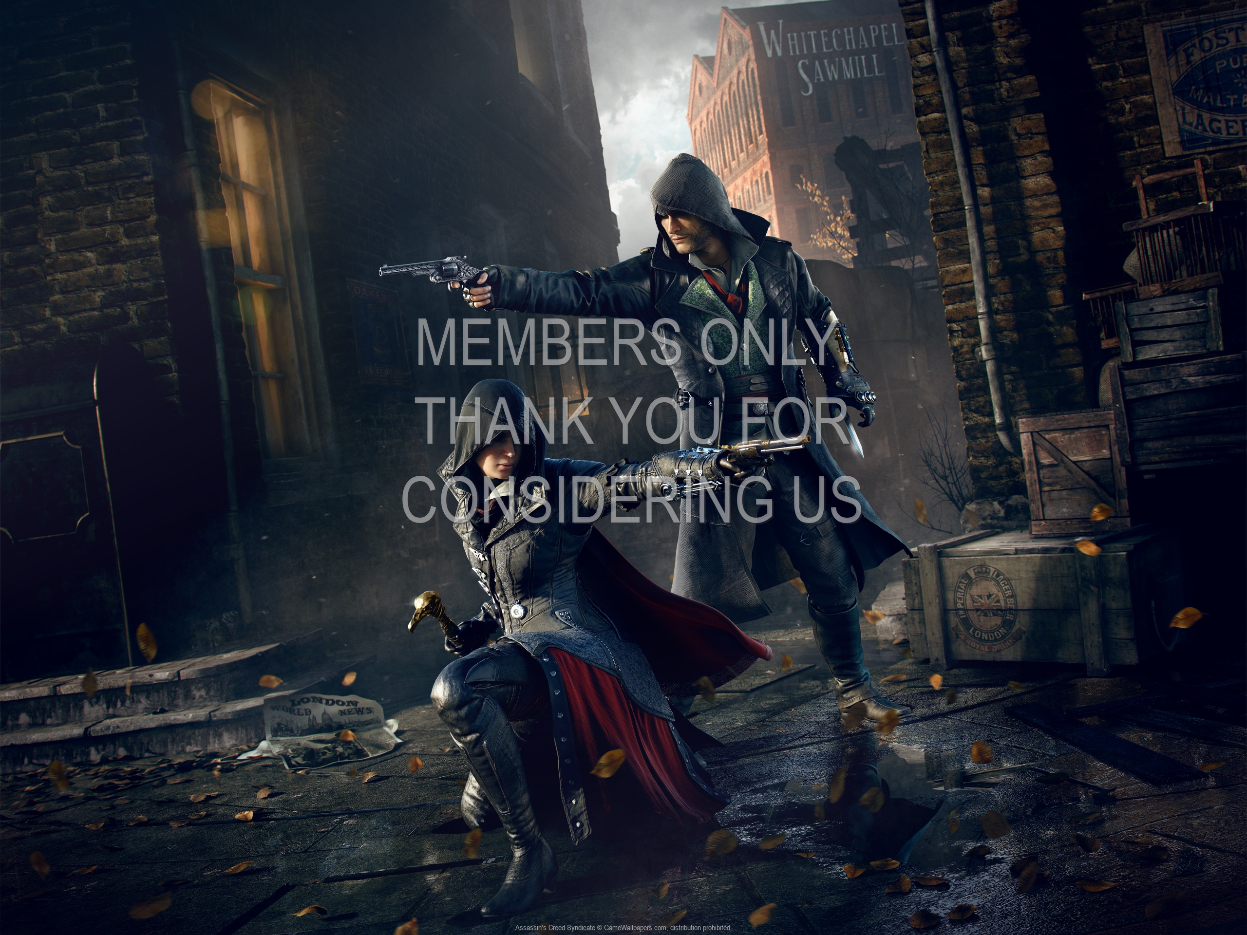 Assassin's Creed: Syndicate 1920x1080 Handy Hintergrundbild 14
