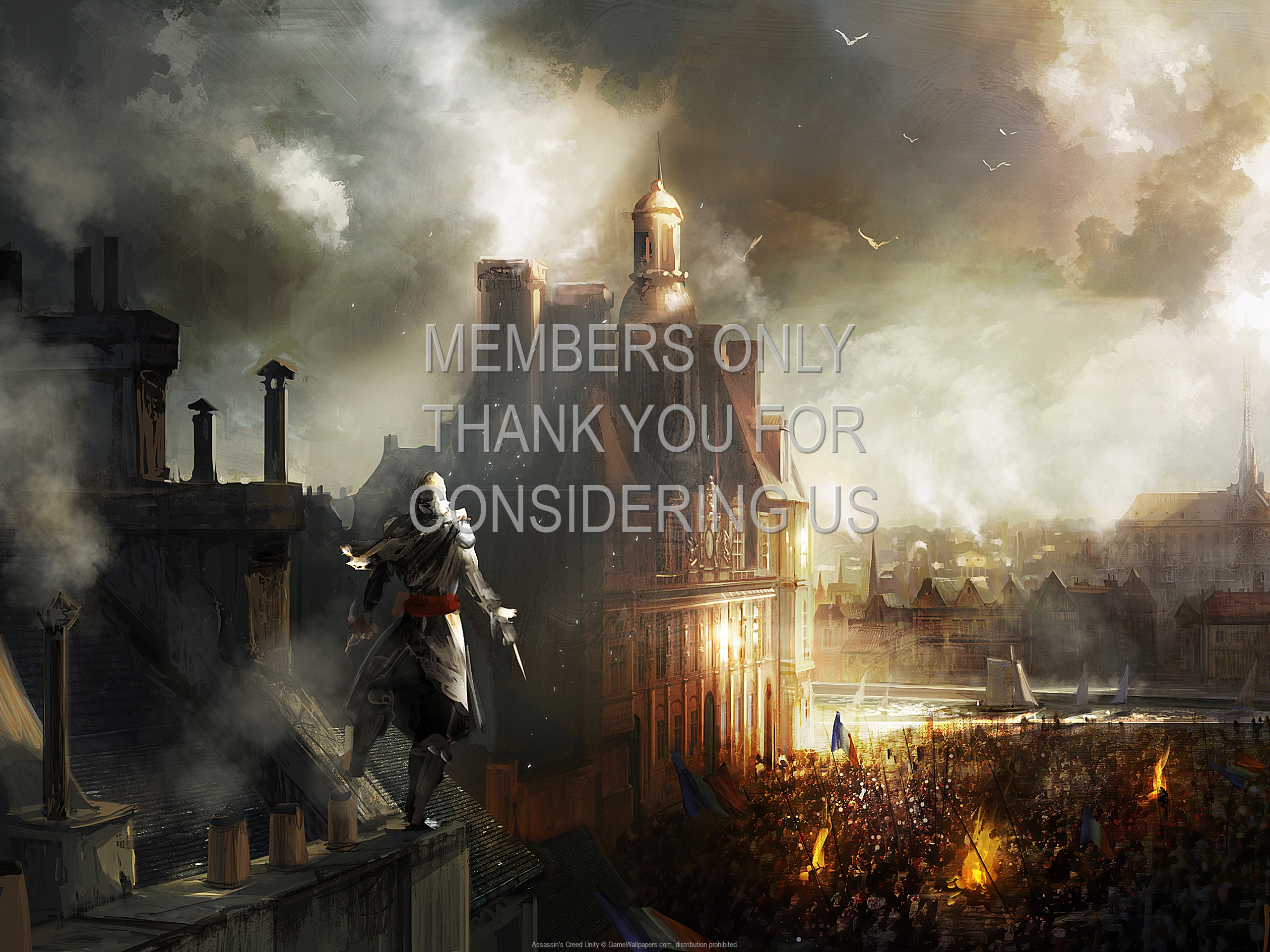 Assassins Creed Unity 1920x1080 Mobile Wallpaper Or Background 06