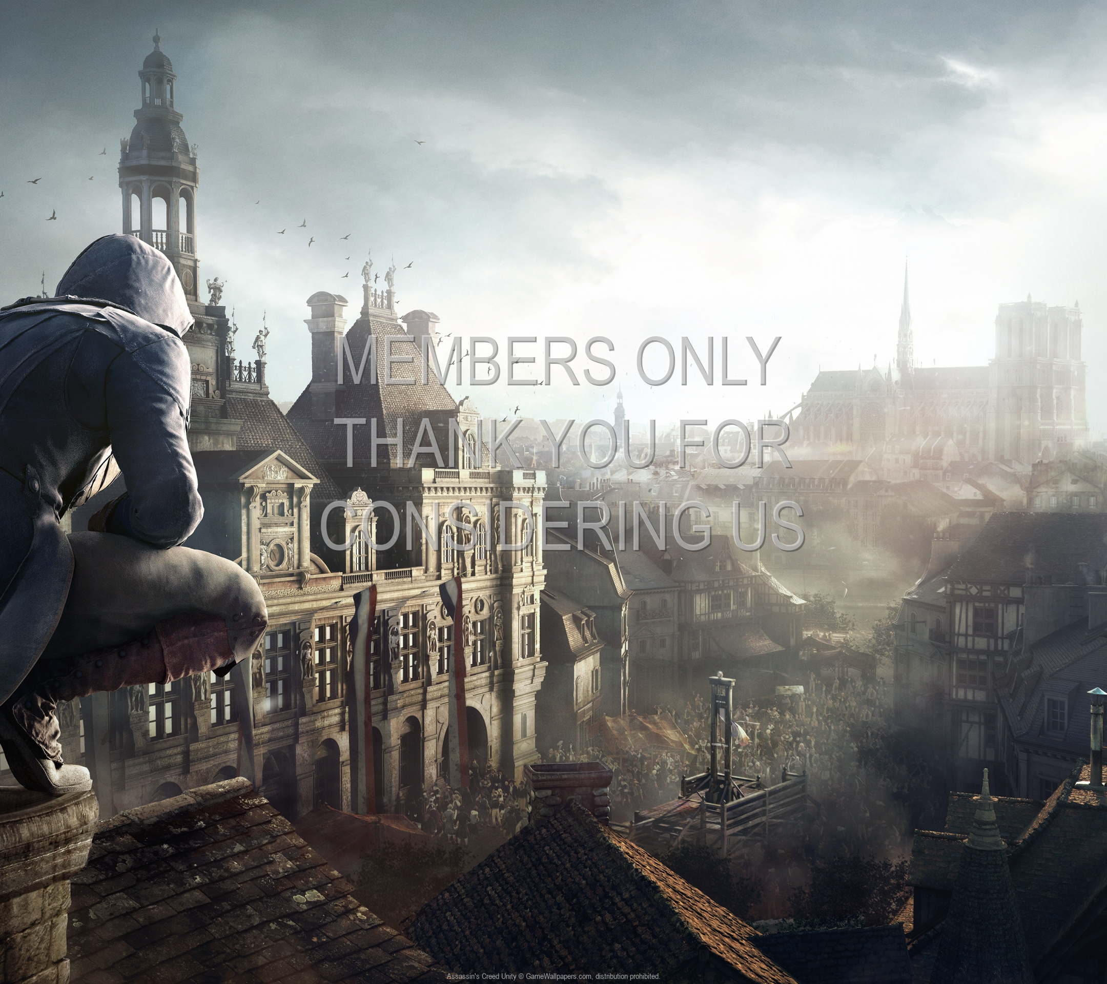 Assassin's Creed: Unity 1920x1080 Handy Hintergrundbild 13