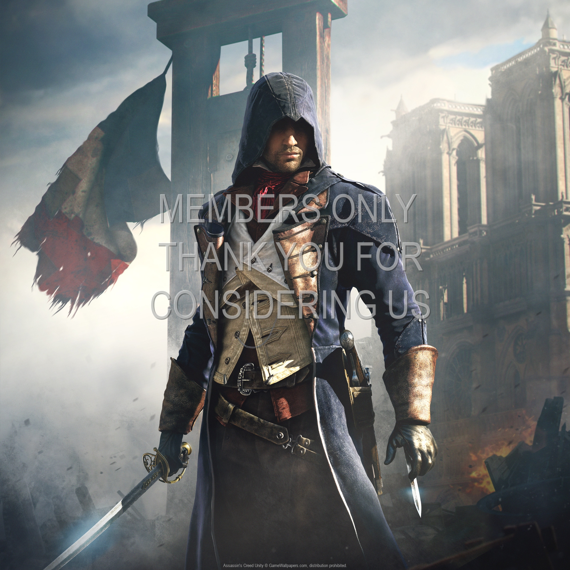 Assassin S Creed Unity Wallpaper 15 1080p Horizontal