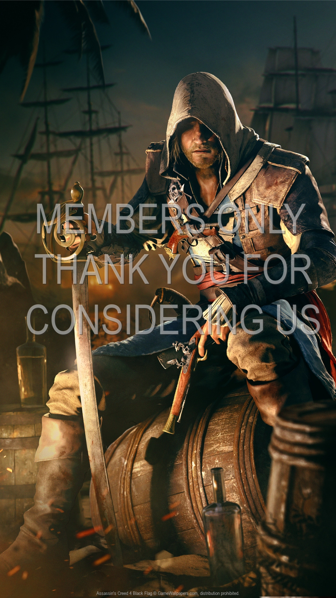 Assassin S Creed 4 Black Flag Wallpaper 15 1080p Vertical