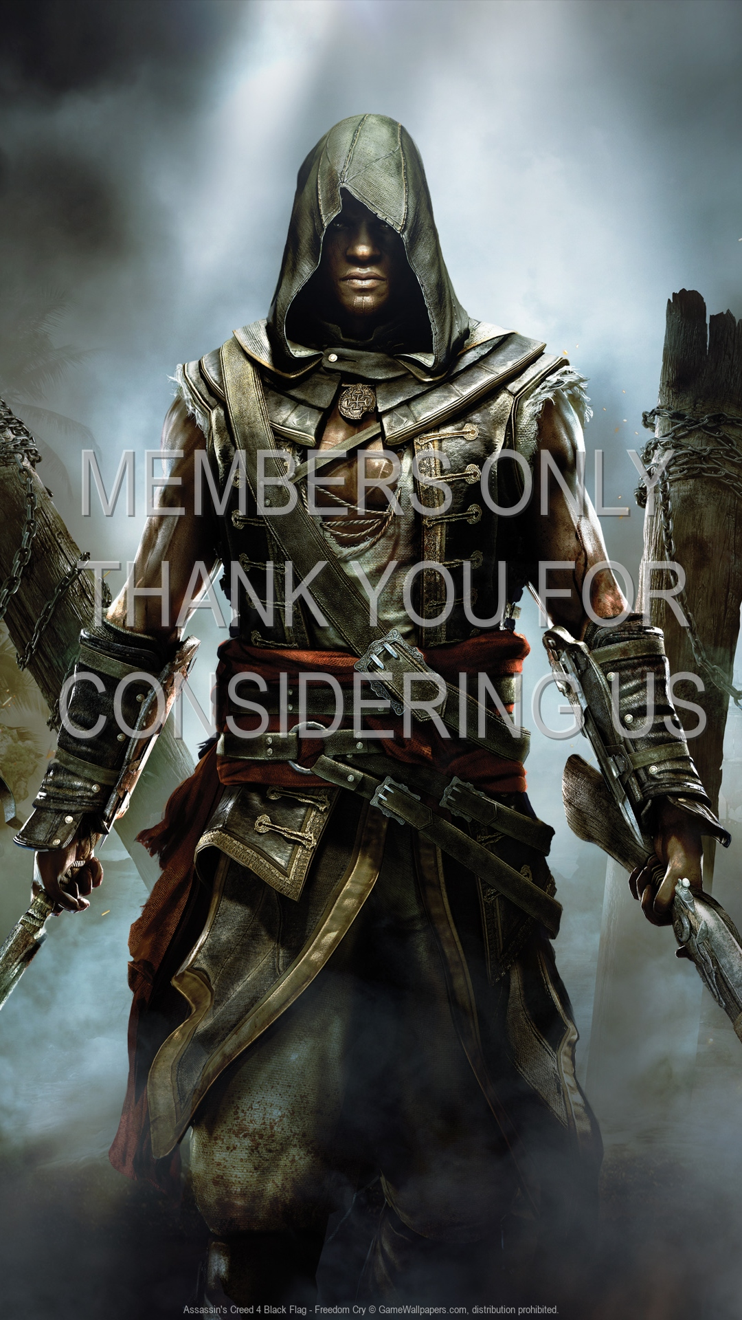 Assassin's Creed 4: Black Flag - Freedom Cry 1920x1080 Handy Hintergrundbild 01