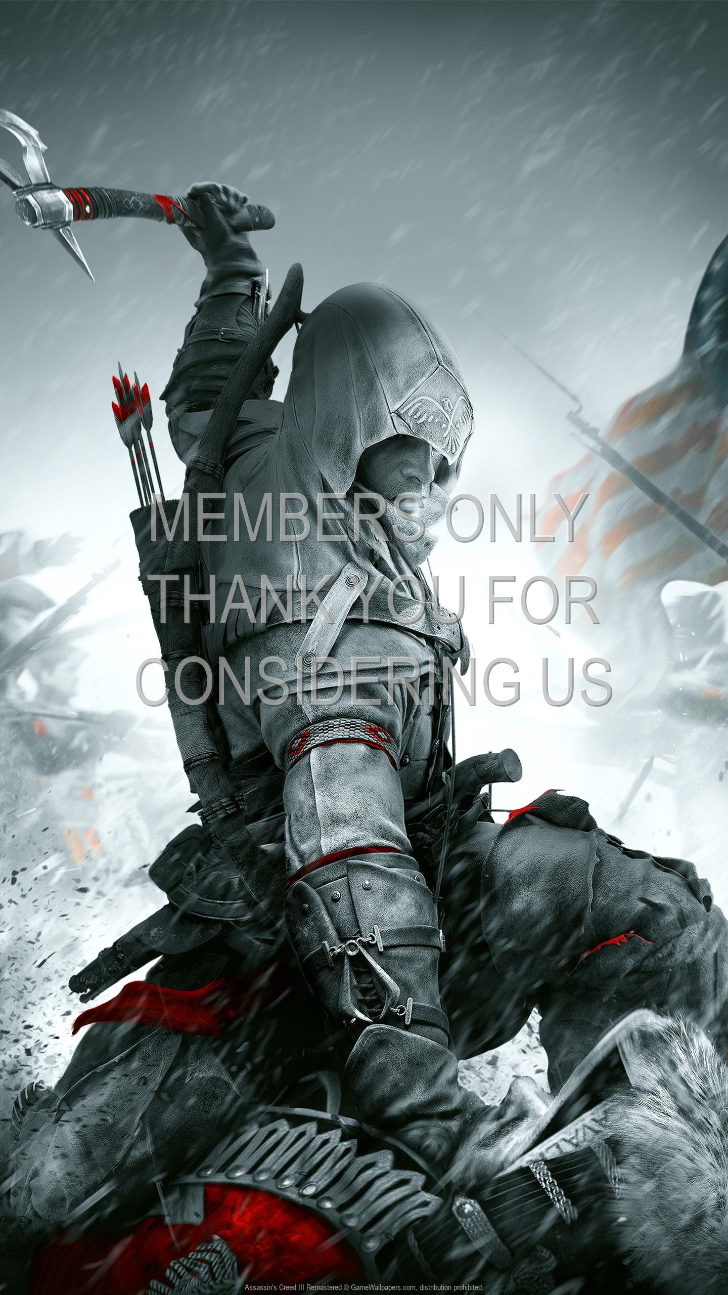 Assassin's Creed III: Remastered 1920x1080 Handy Hintergrundbild 01