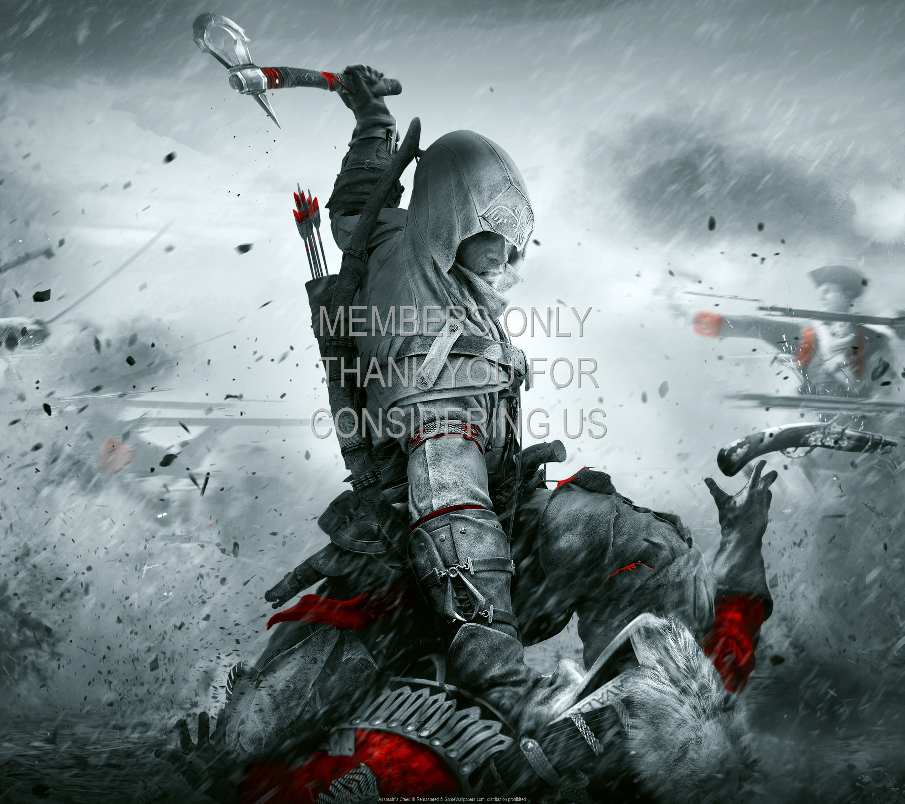 Assassin's Creed III: Remastered 1920x1080 Handy Hintergrundbild 01