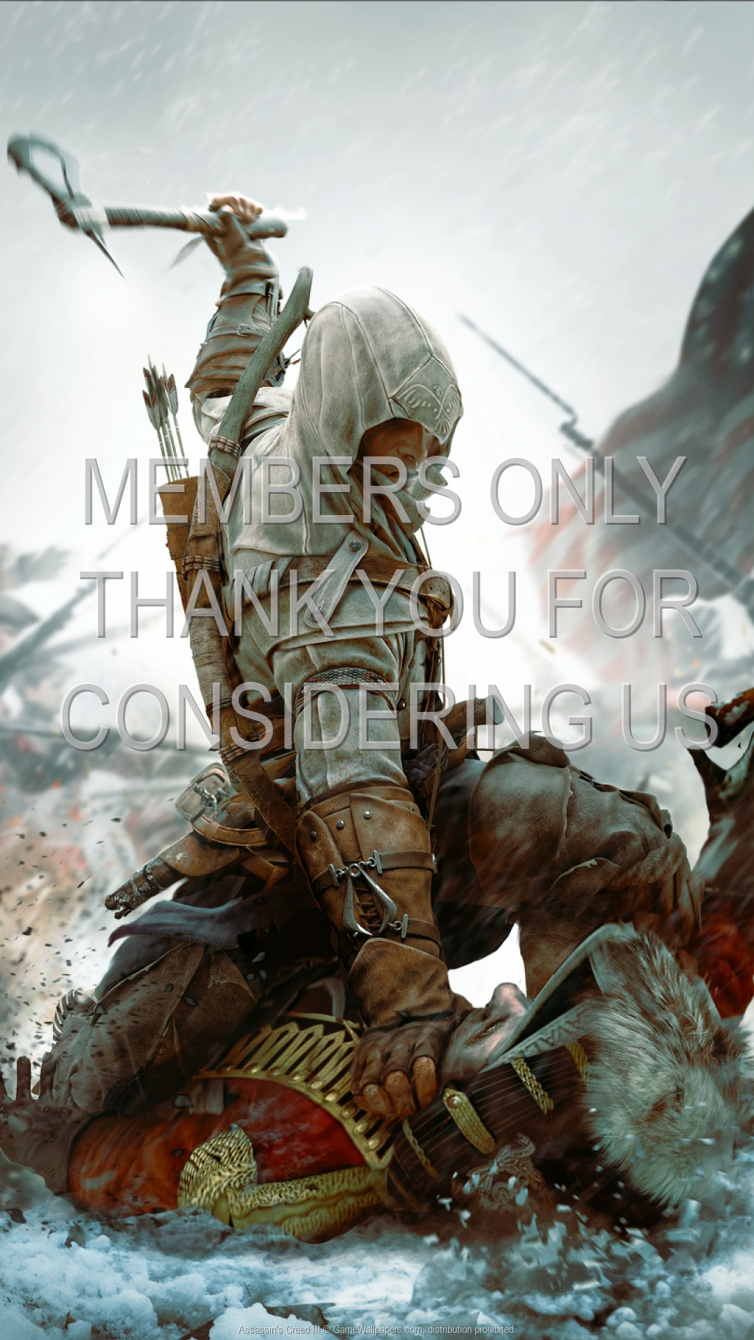 Assassin's Creed III 1920x1080 Mobile wallpaper or background 07