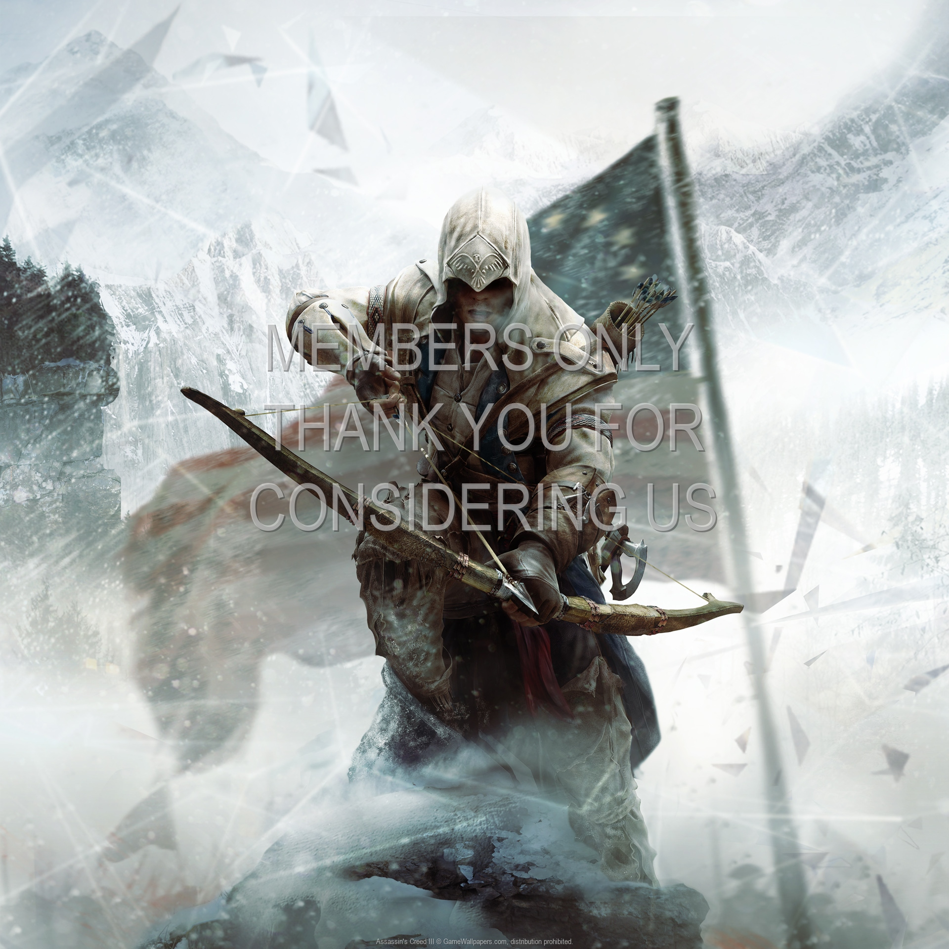 Assassin's Creed III 1920x1080 Mobile wallpaper or background 10