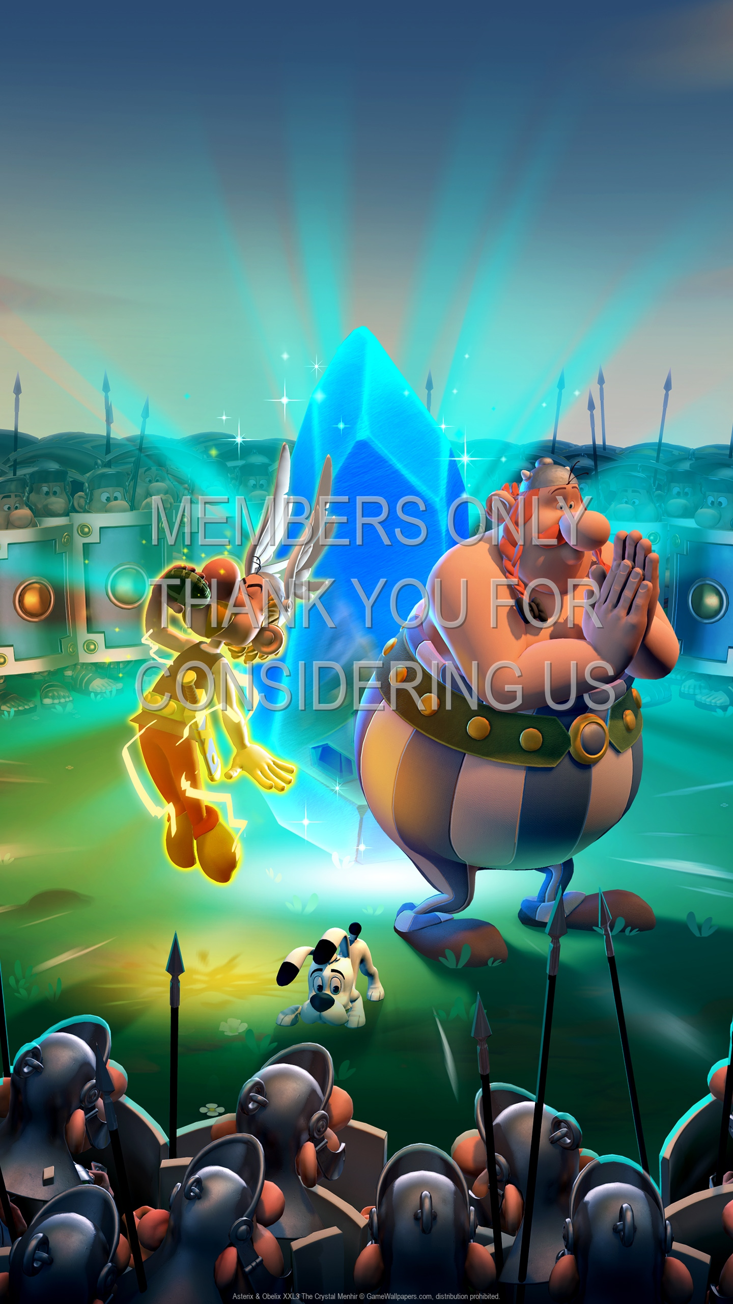 Asterix & Obelix XXL3: The Crystal Menhir 1920x1080 Mobile wallpaper or background 01