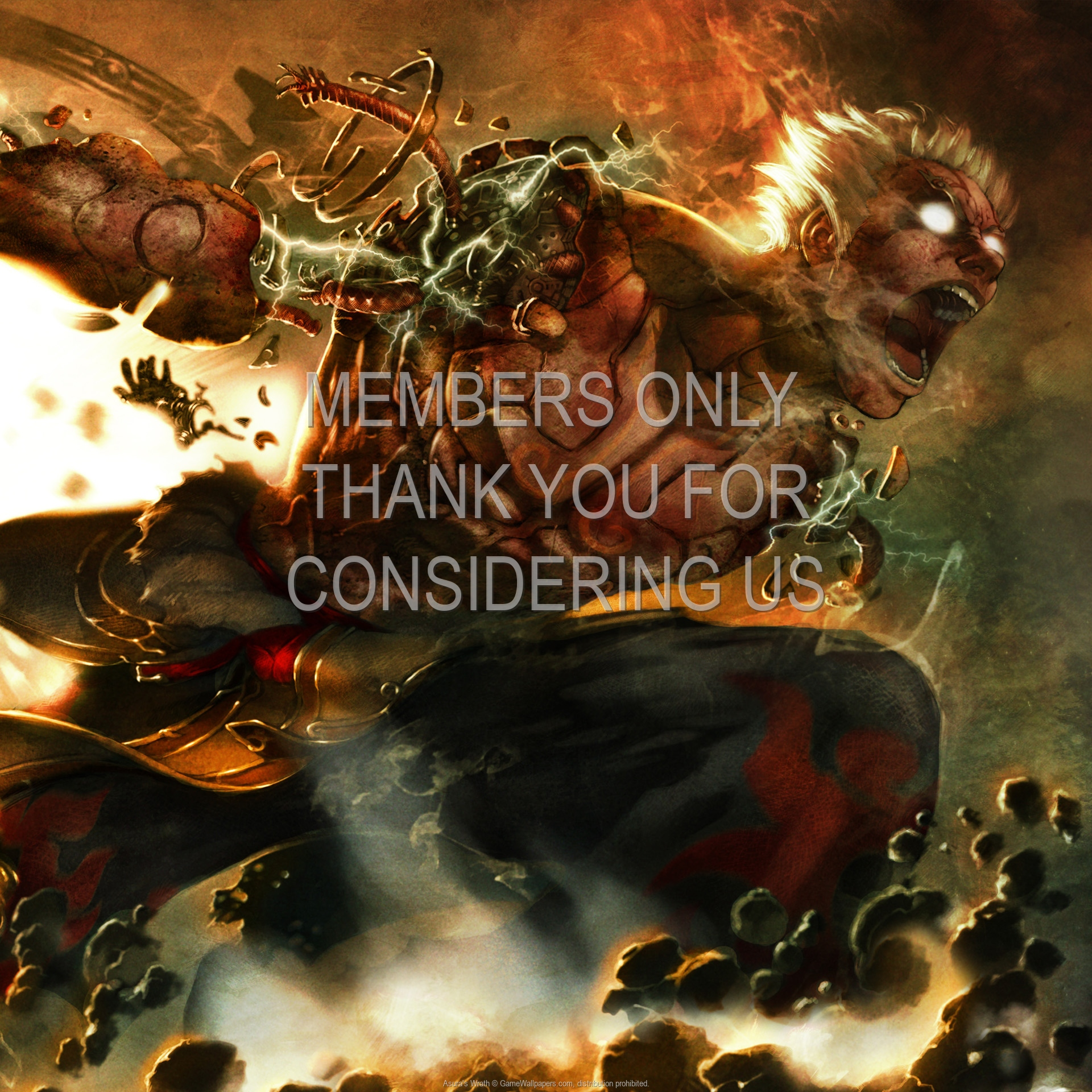 Asura's Wrath 1920x1080 Mobile wallpaper or background 03