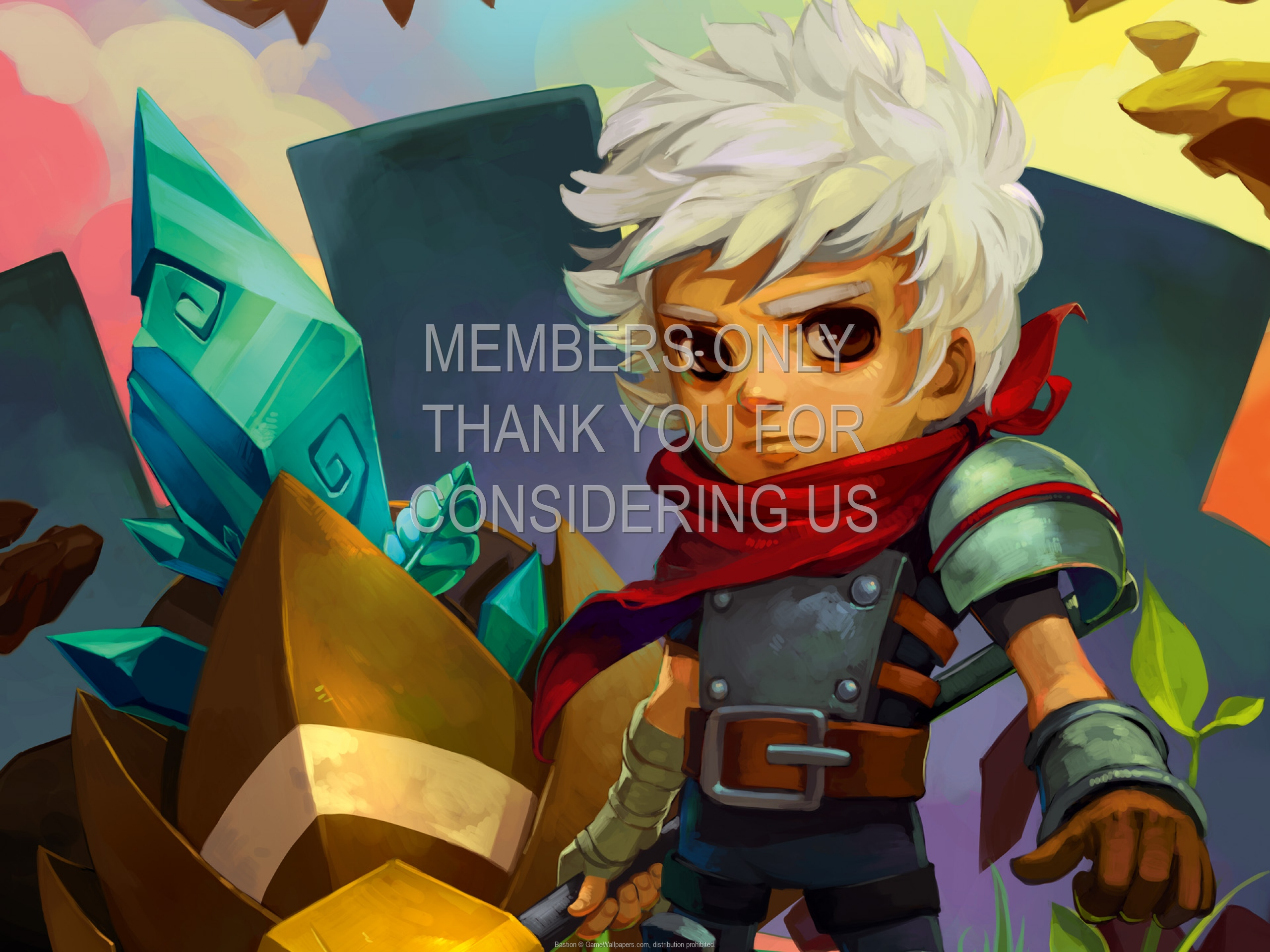 Bastion 1920x1080 Mobile wallpaper or background 01
