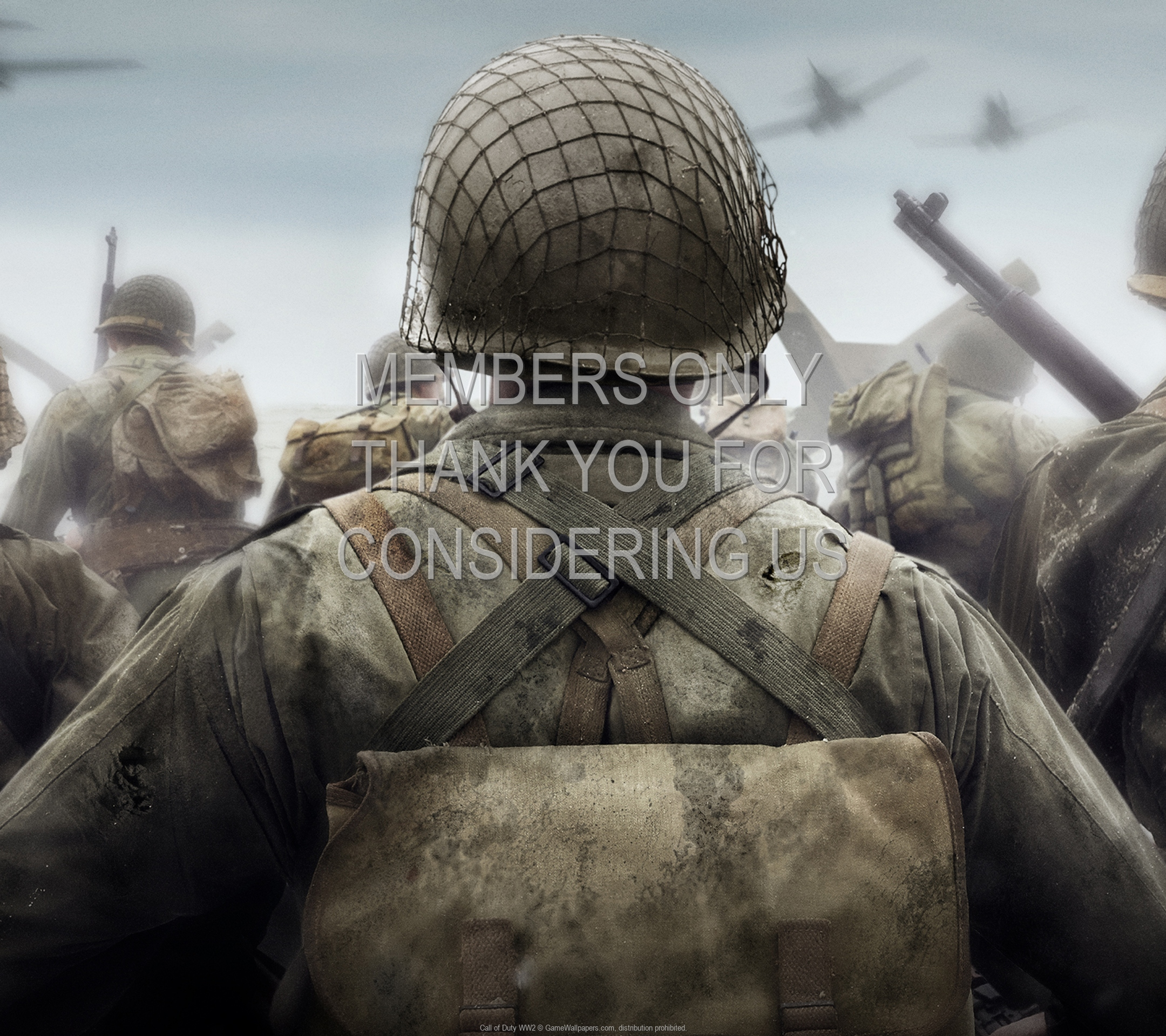 Call of Duty: WW2 1920x1080 Mobile wallpaper or background 01