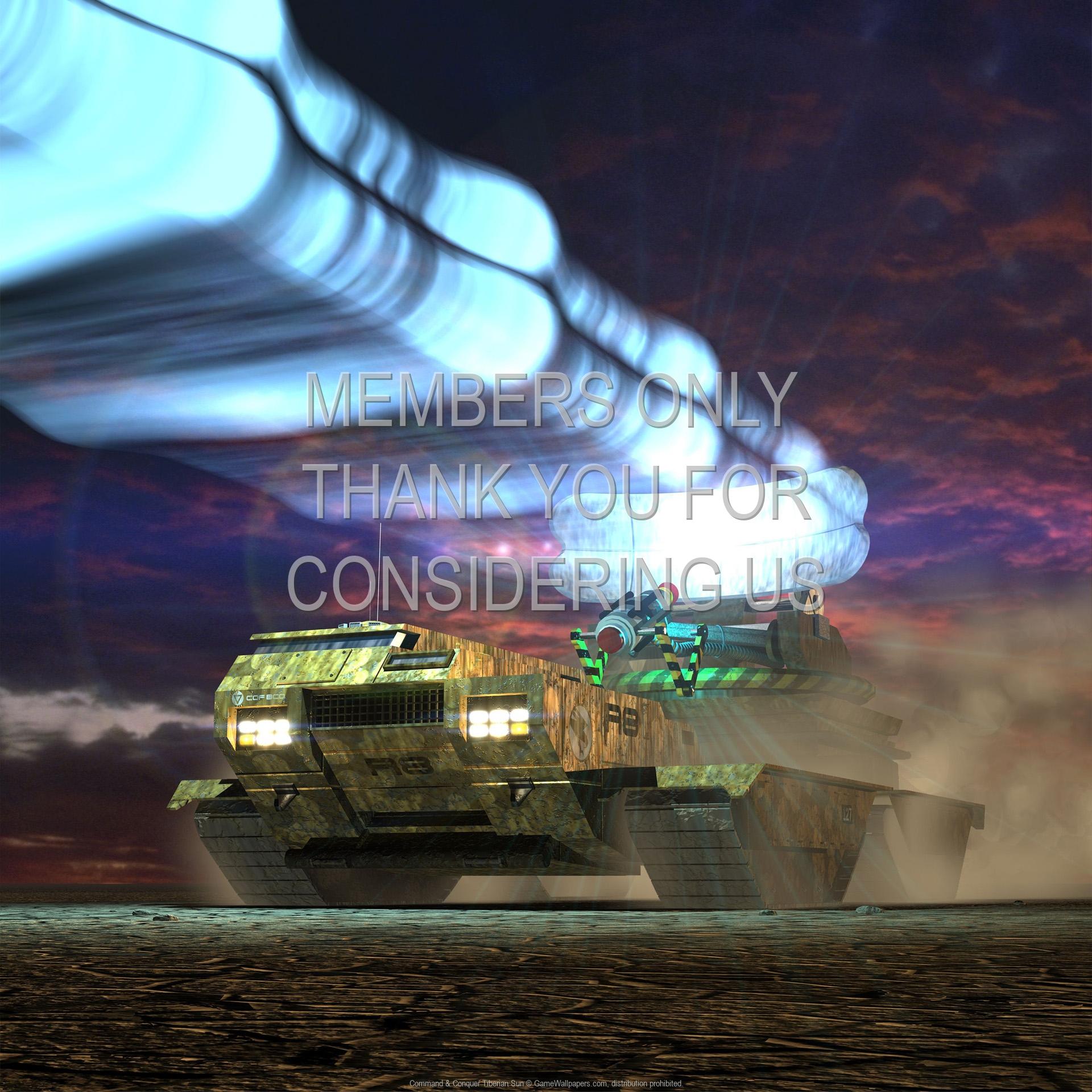 Command & Conquer: Tiberian Sun 1920x1080 Handy Hintergrundbild 01