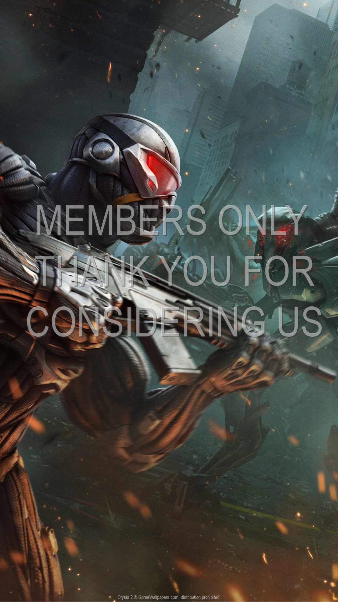 Crysis 2 1920x1080 Mobile wallpaper or background 12