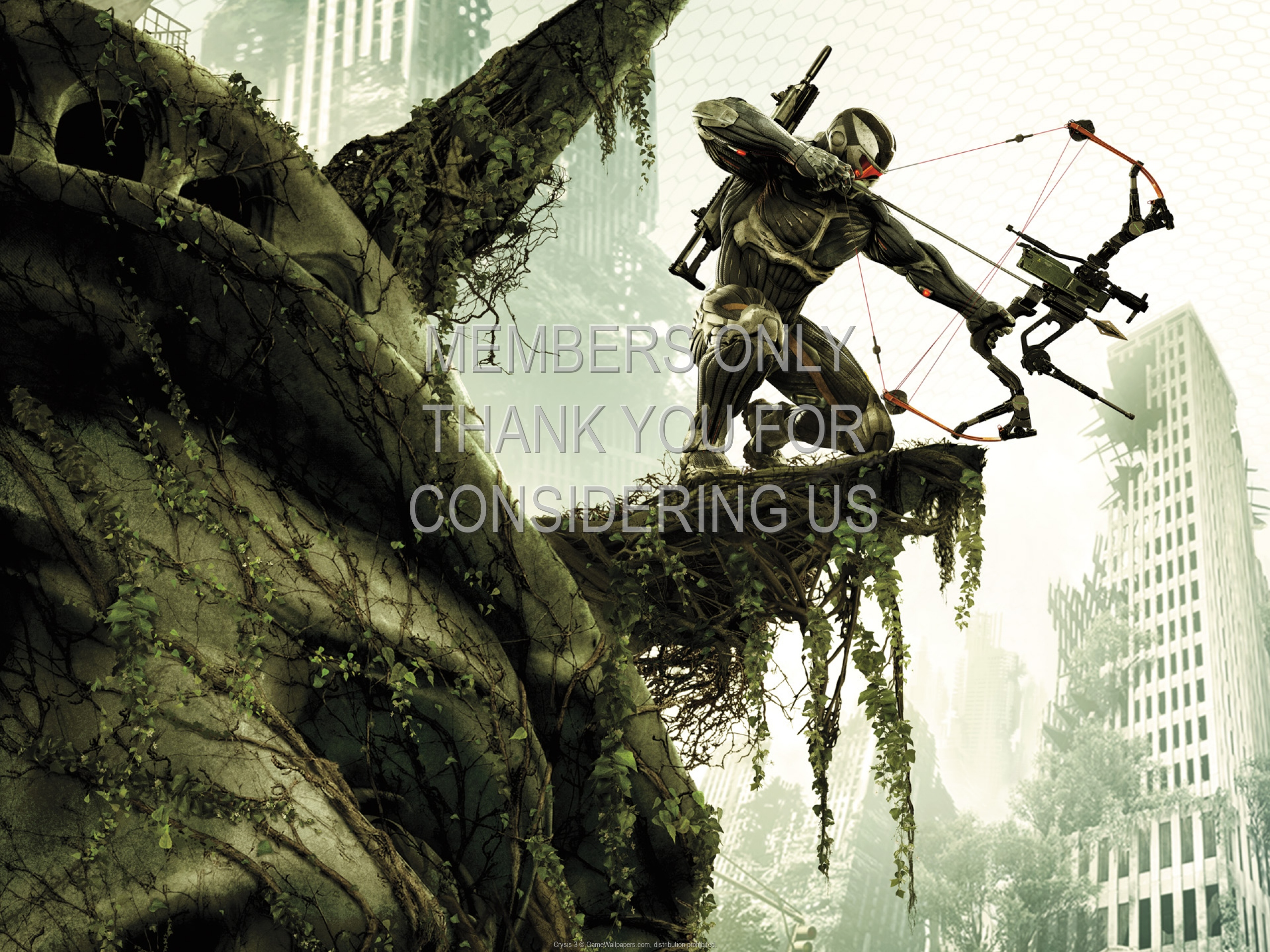 Crysis 3 1920x1080 Mobile wallpaper or background 01