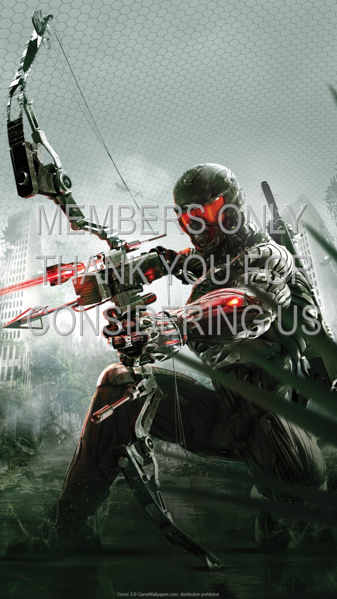 Crysis 3 1920x1080 Mobile wallpaper or background 02