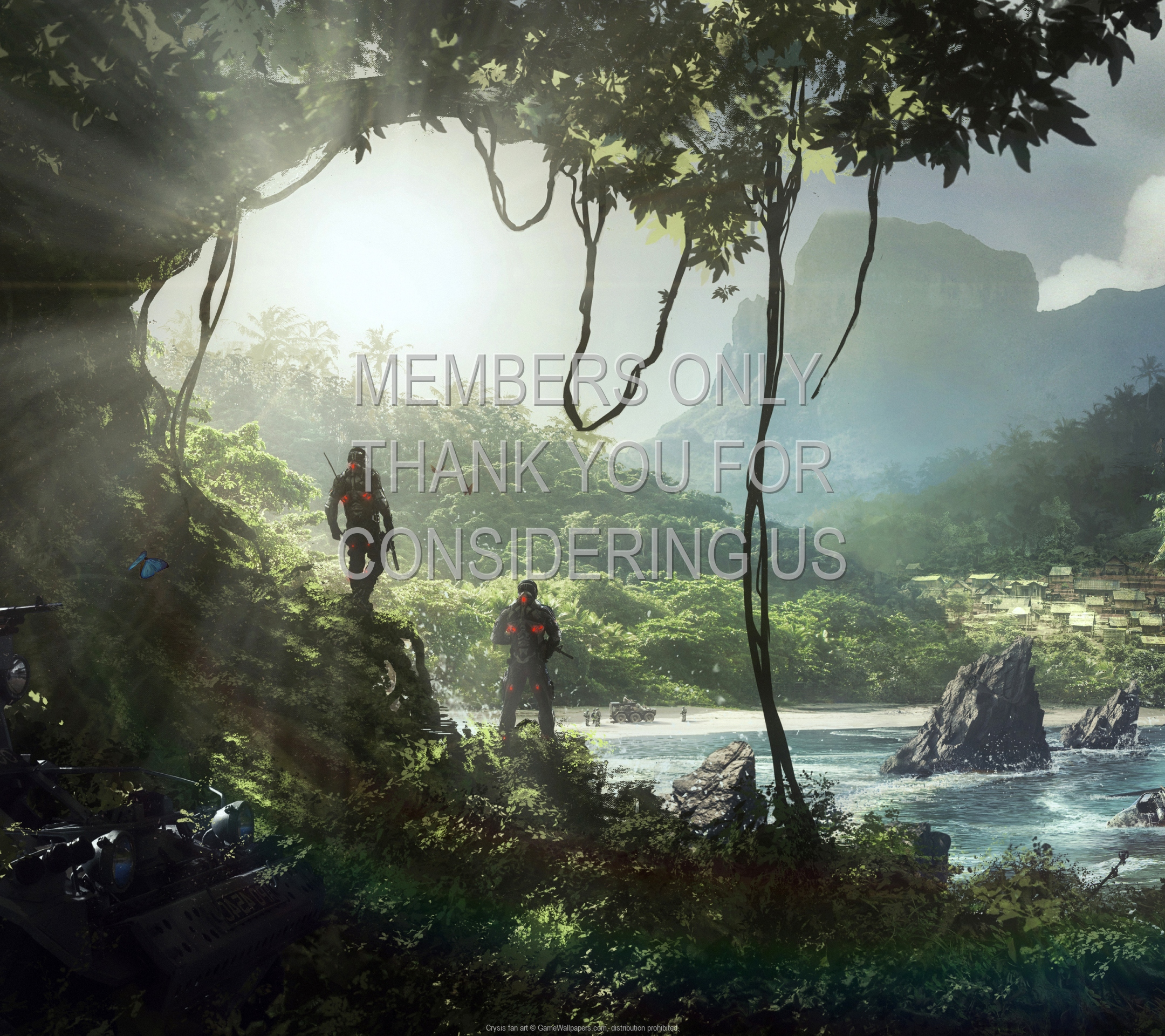 Crysis fan art 1920x1080 Móvil fondo de escritorio 01