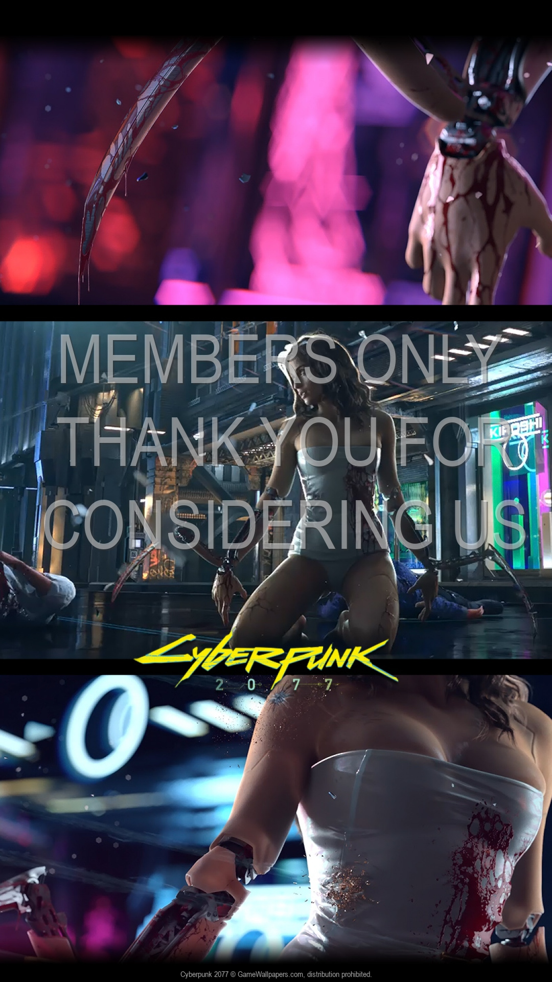 Cyberpunk 2077 1920x1080 Mobile wallpaper or background 02