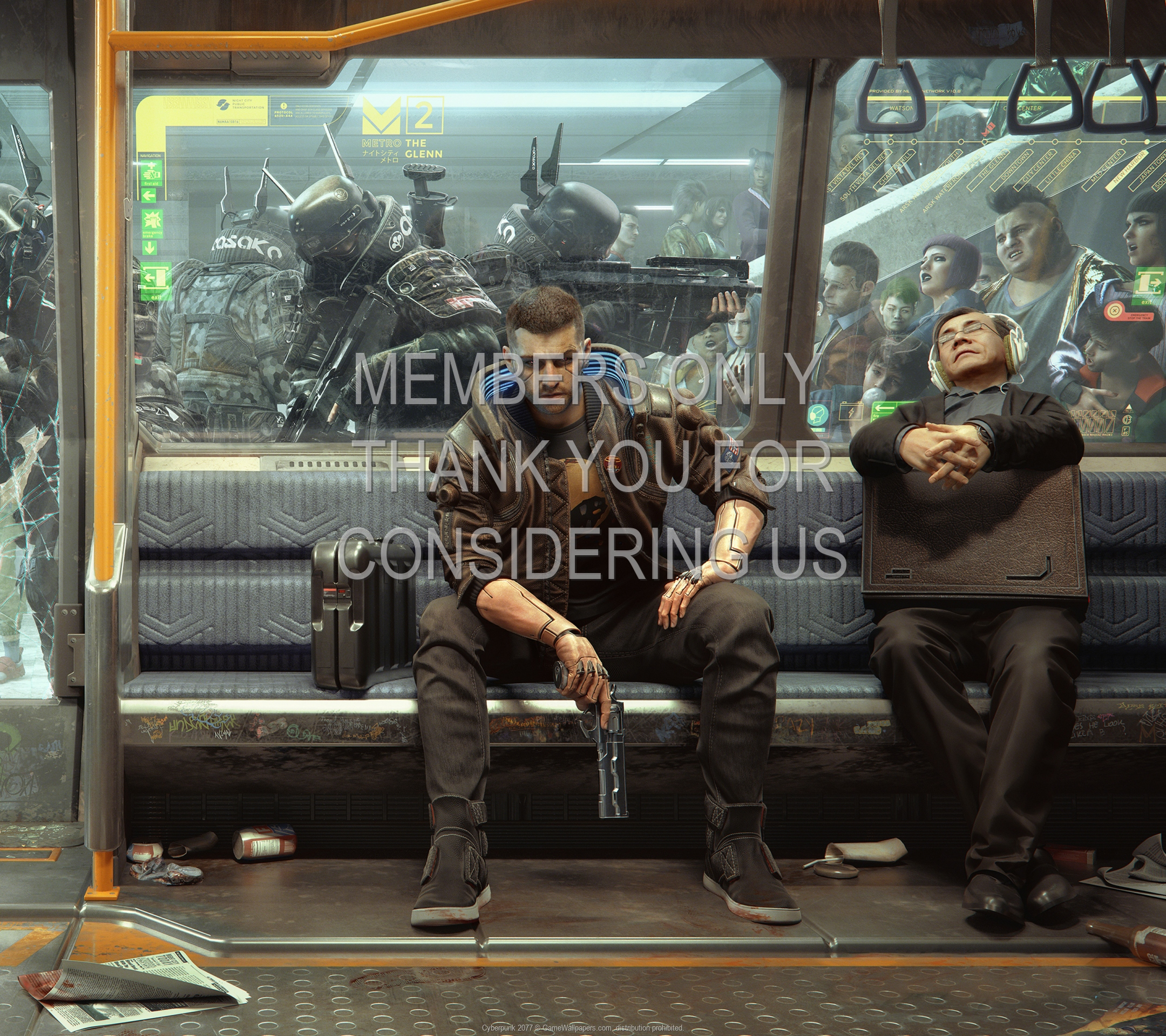 Cyberpunk 2077 1920x1080 Mobile fond d'écran 28
