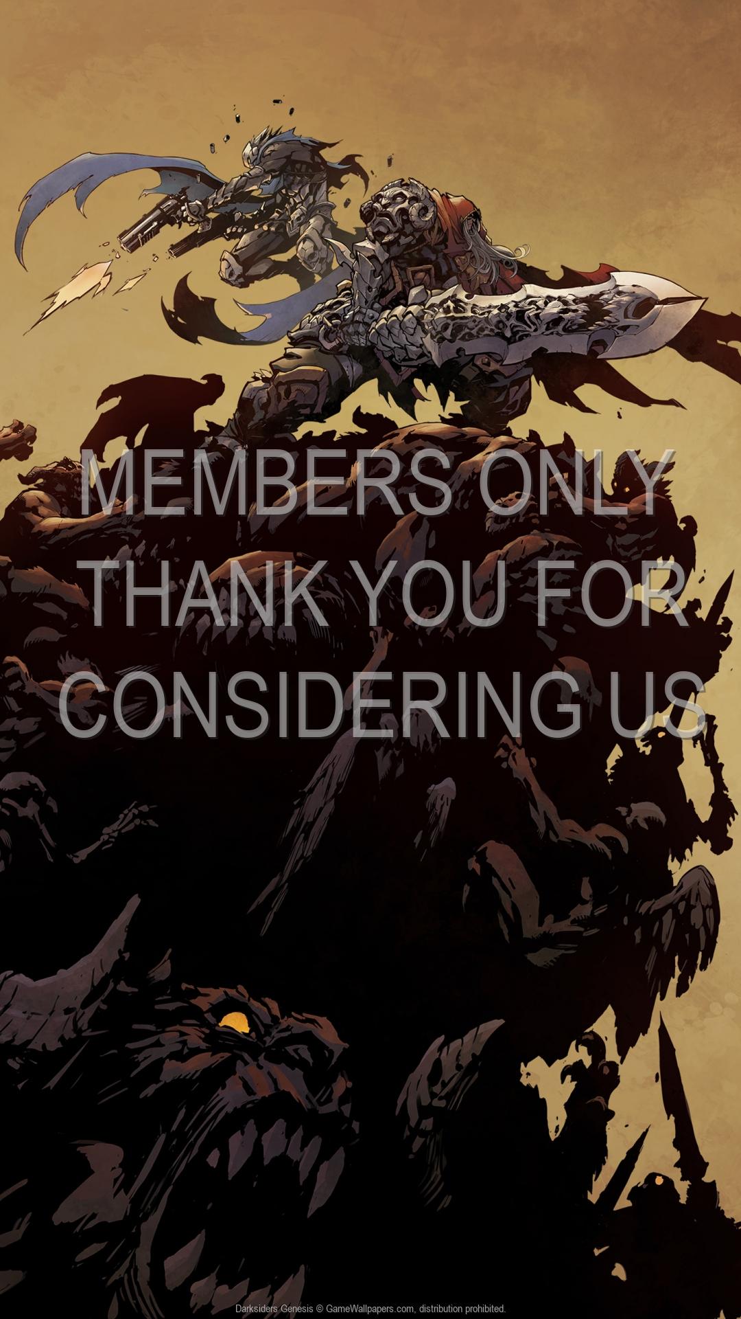 Darksiders: Genesis 1920x1080 Mobile wallpaper or background 03