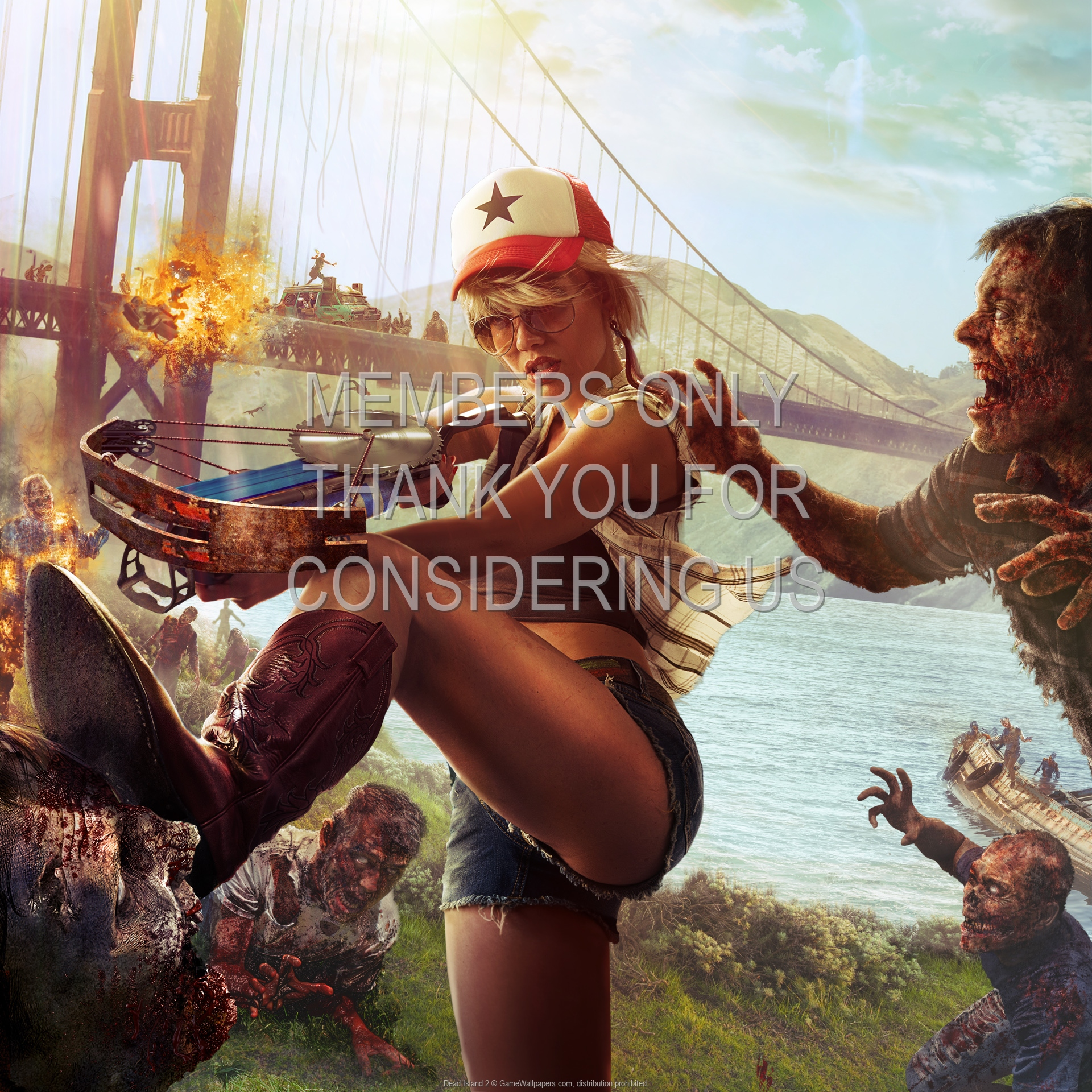 Dead Island 2 1920x1080 Mobile Wallpaper Or Background 02