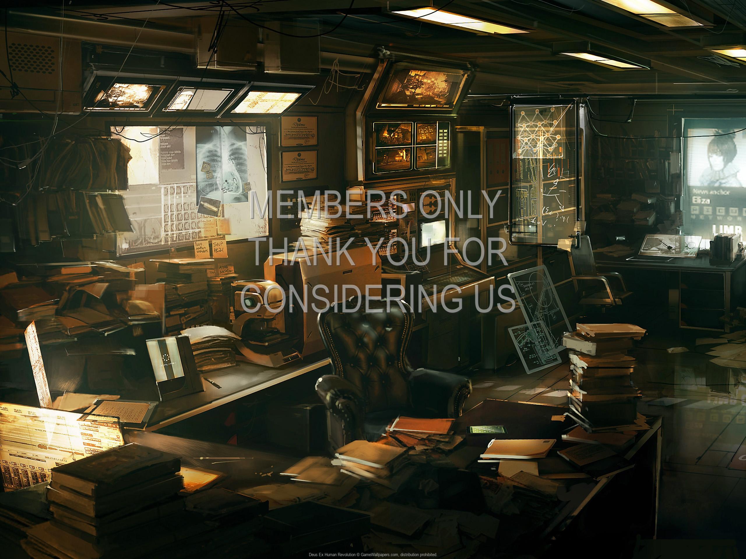 Deus Ex: Human Revolution 1920x1080 Handy Hintergrundbild 03